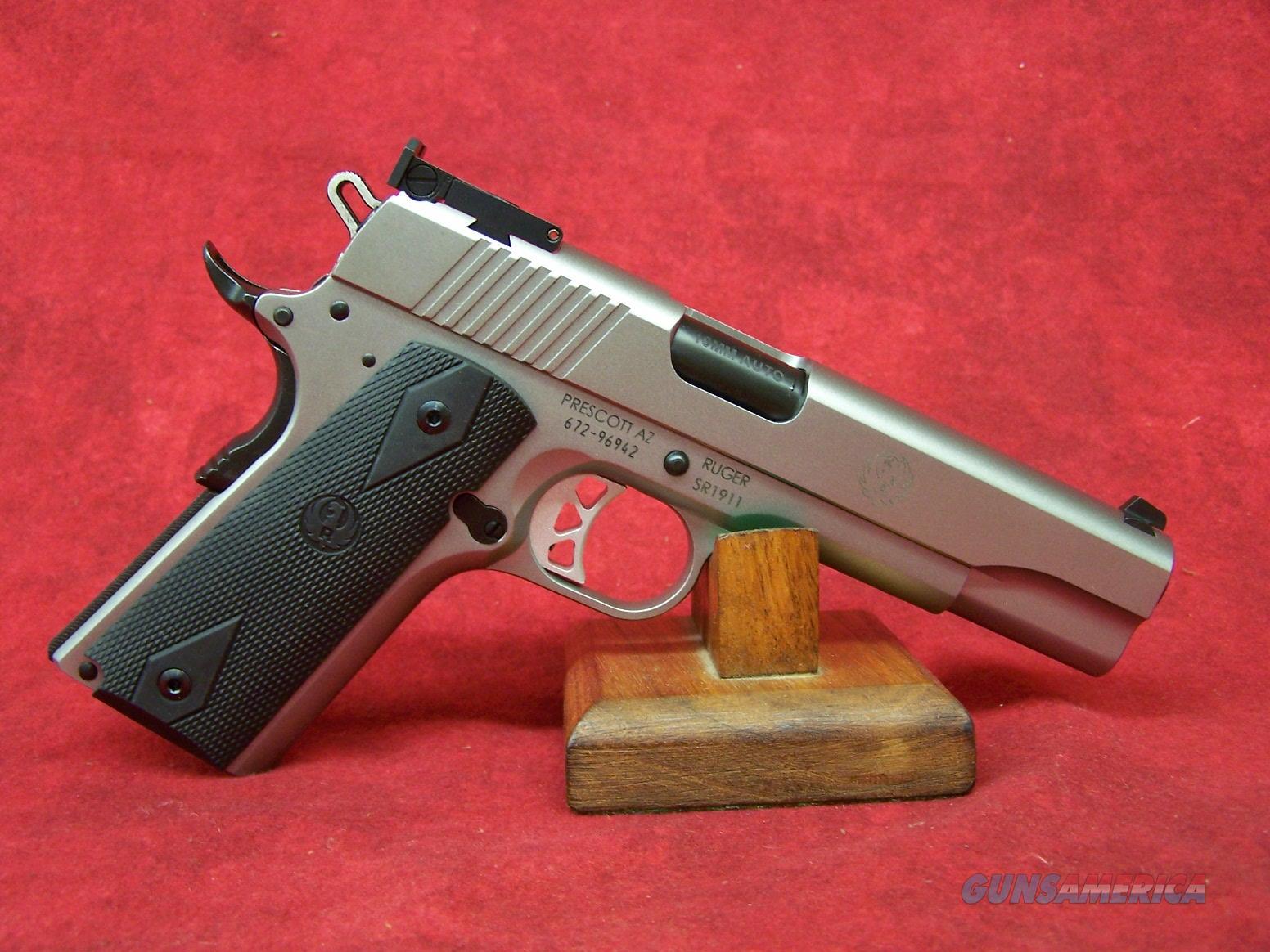 "Ruger SR1911 Target 10mm 5"" Barrel (06739)  Guns > Pistols > Ruger Semi-Auto Pistols > 1911"