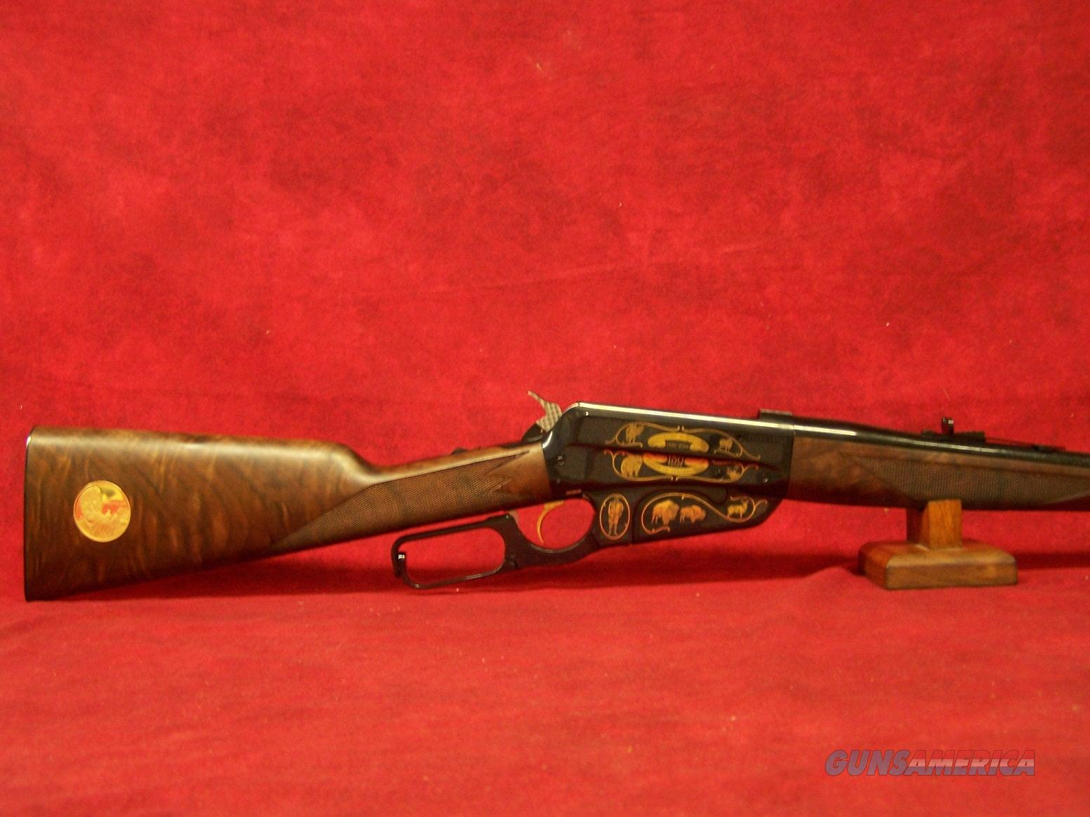 Winchester 1895 Teddy Roosevelt 150th Annv. Custom Grade .405 Win. (534151154)  Guns > Rifles > Winchester Rifle Commemoratives