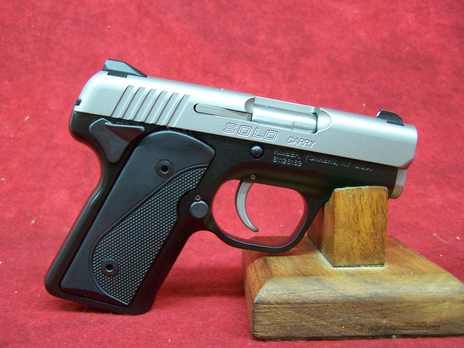 Kimber Solo Carry Duo-Tone 9mm (39001)  Guns > Pistols > Kimber of America Pistols