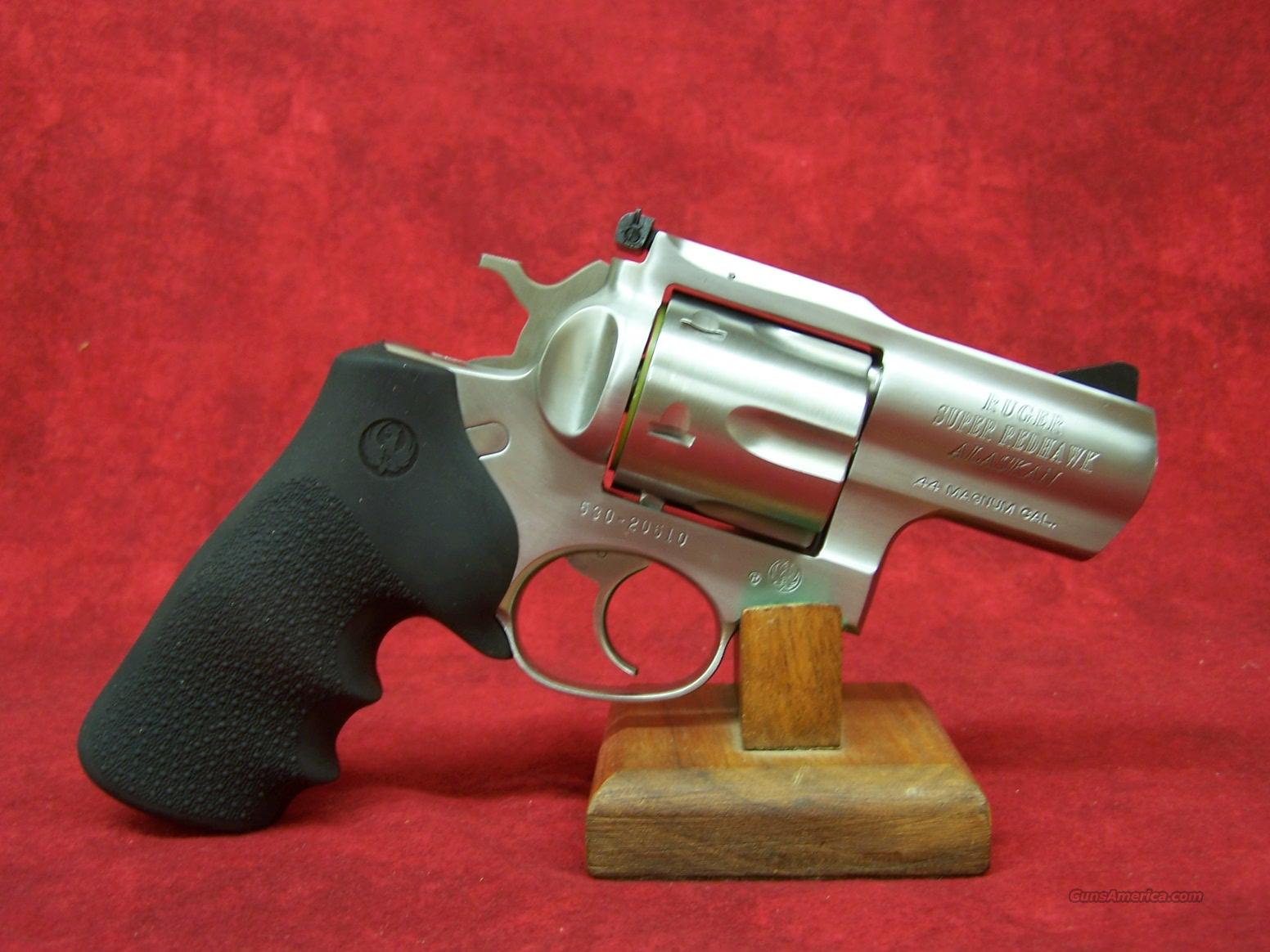 """Ruger Super Redhawk Alaskan .44 Magnum 2 1/2"""" SSKSRH-2 (05303)  Guns > Pistols > Ruger Double Action Revolver > Redhawk Type"""