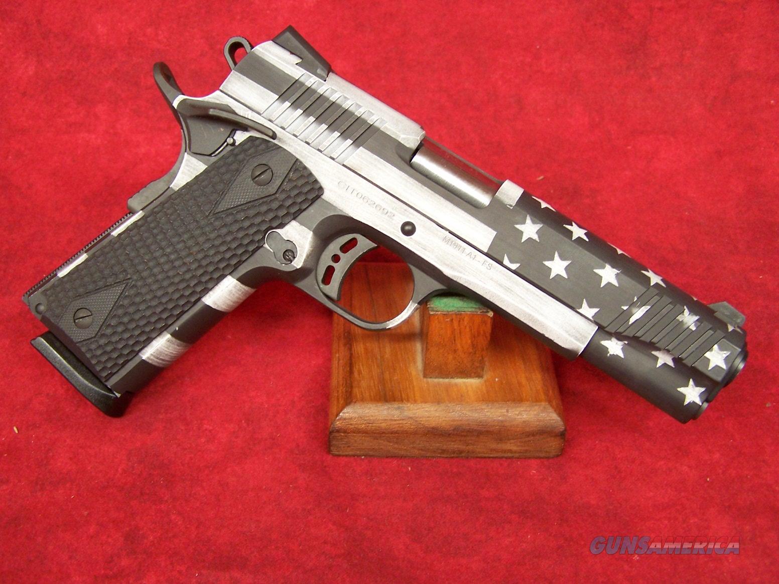 """Citadel 1911-A1 US Flag Gray .45 ACP 5"""" Barrel matching Ammo Can LSI  Guns > Pistols > Citadel Pistols"""