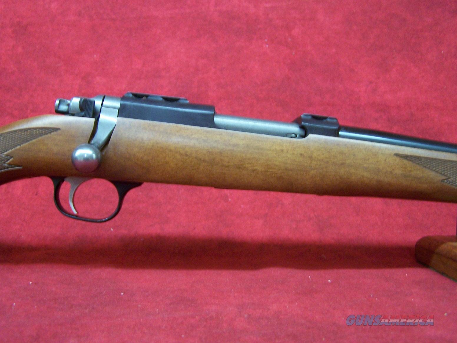 """RUGER 77/17 17 WSM 20"""" BLUED WALNUT 6RD (07217)  Guns > Rifles > Ruger Rifles > Model 77"""