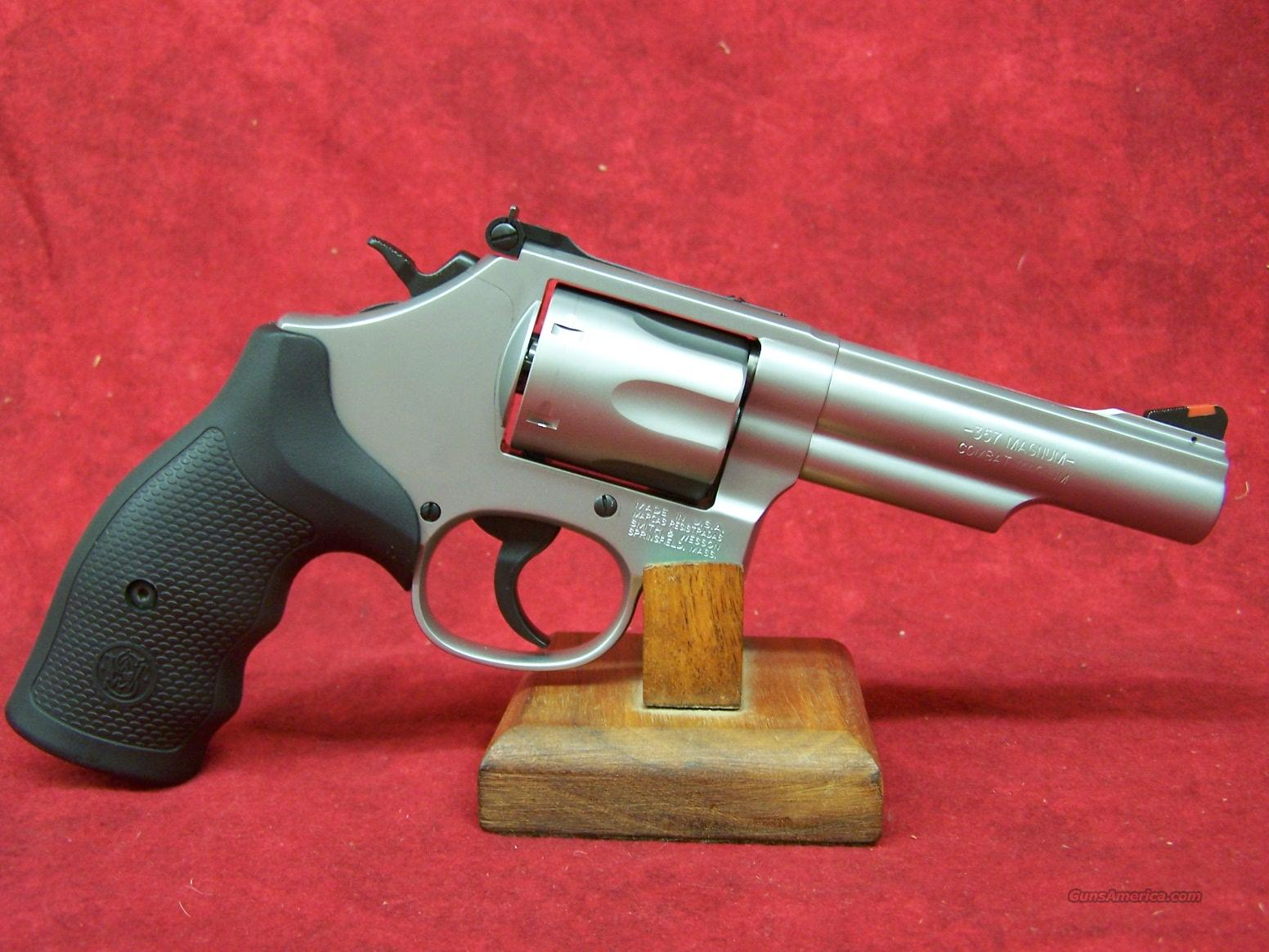 "Smith & Wesson 66-8 SS 4.25"" .357mag (162662)  Guns > Pistols > Smith & Wesson Revolvers > Full Frame Revolver"