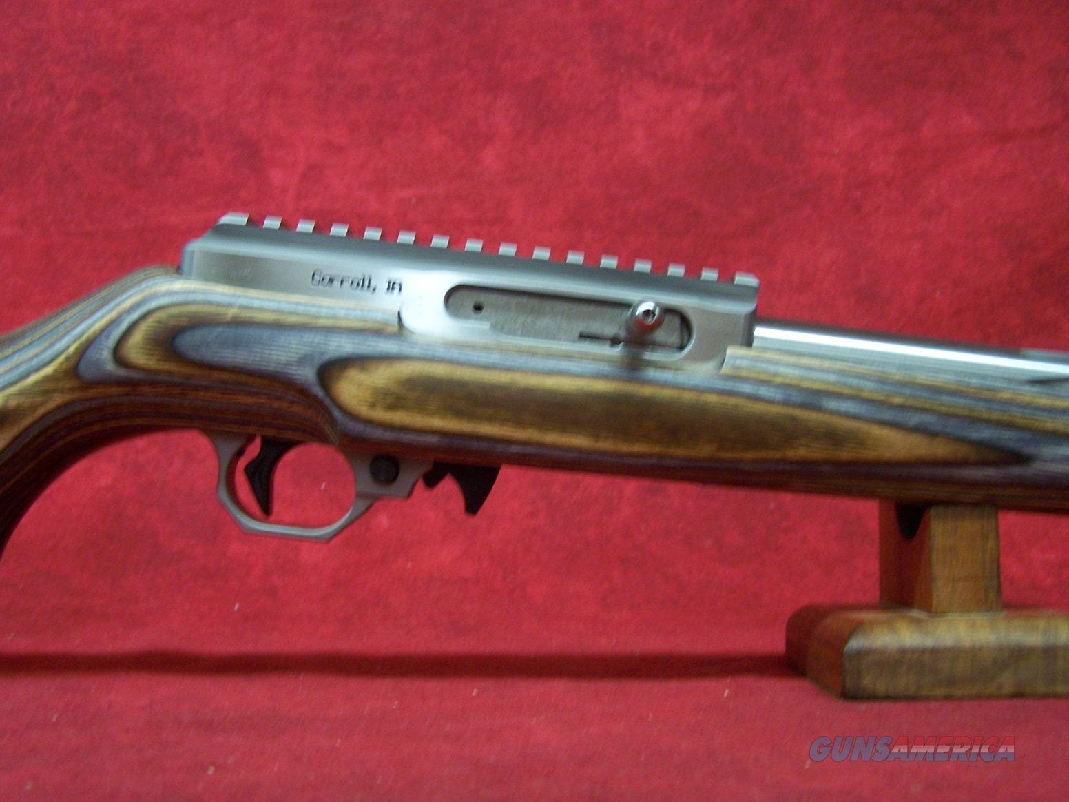Volquartsen SF-1, 17 HMR with Brown/Gray Laminated Sporter Stock(VCS-HMR-BG)  Guns > Rifles > Volquartsen
