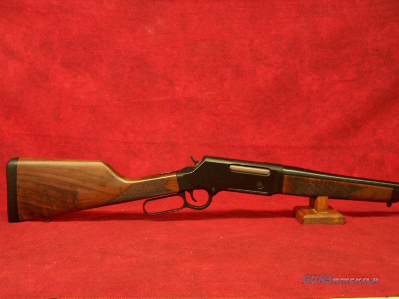 "Henry Long Ranger .243 Win. 20"" Round Barrel Blue Finish No Sights Walnut Stock 4 Round (H014-243)  Guns > Rifles > Henry Rifles - Replica"