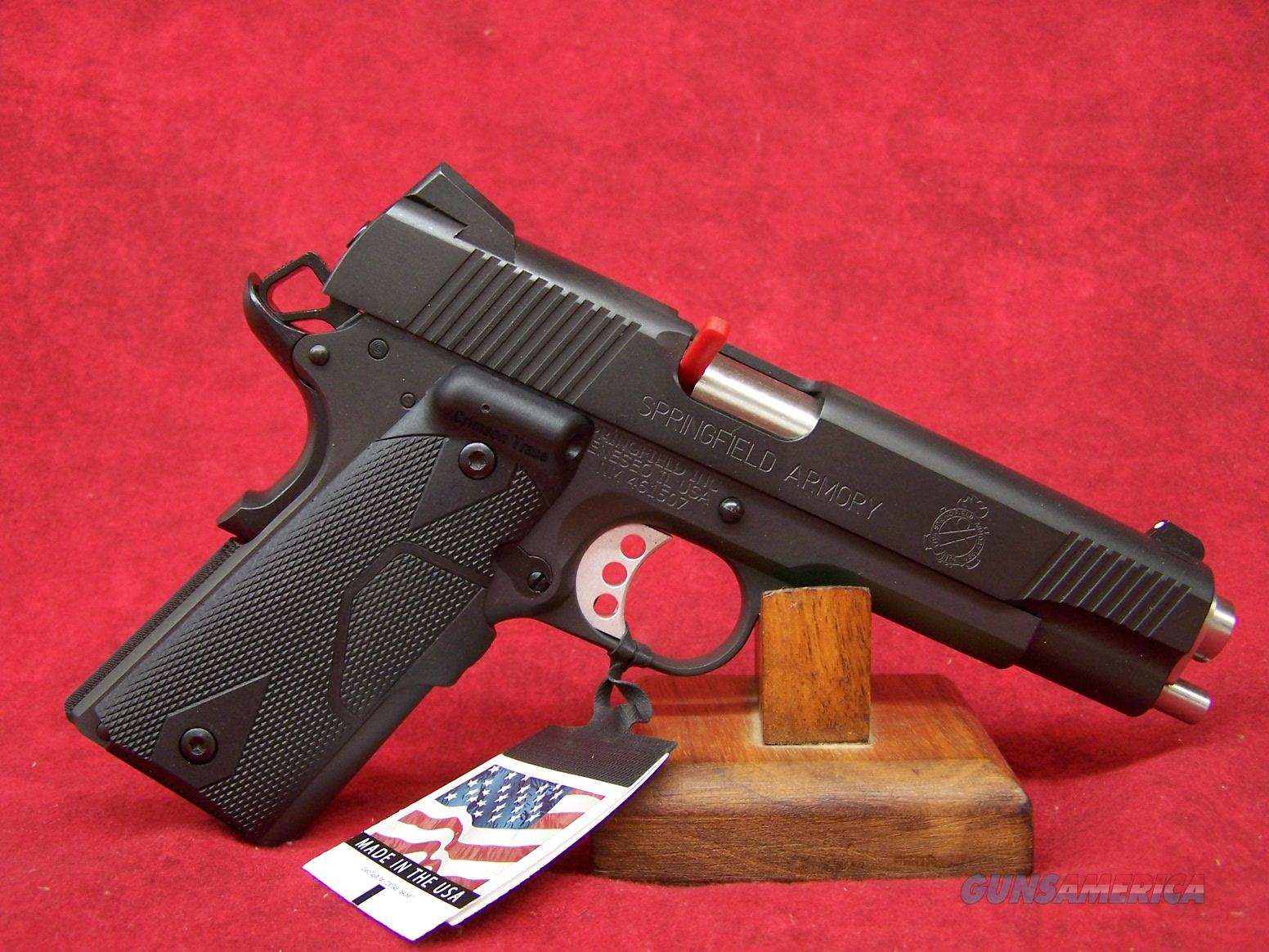 "Springfield Armory 1911 Loaded .45ACP 5"" Barrel Fixed Combat 3-Dot Tritium Sights Cocobolo Grips Crimson Trace LaserGrips (PI9109LPCT)  Guns > Pistols > Springfield Armory Pistols > 1911 Type"