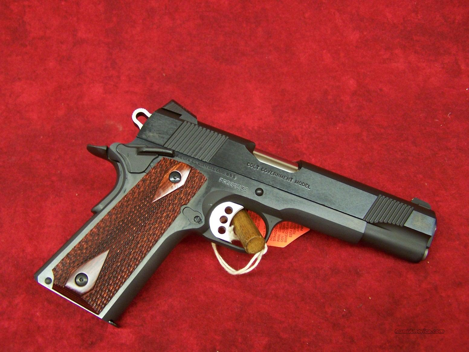 Colt 1911 Government Model Blue .45ACP(01980XSE)  Guns > Pistols > Colt Automatic Pistols (1911 & Var)
