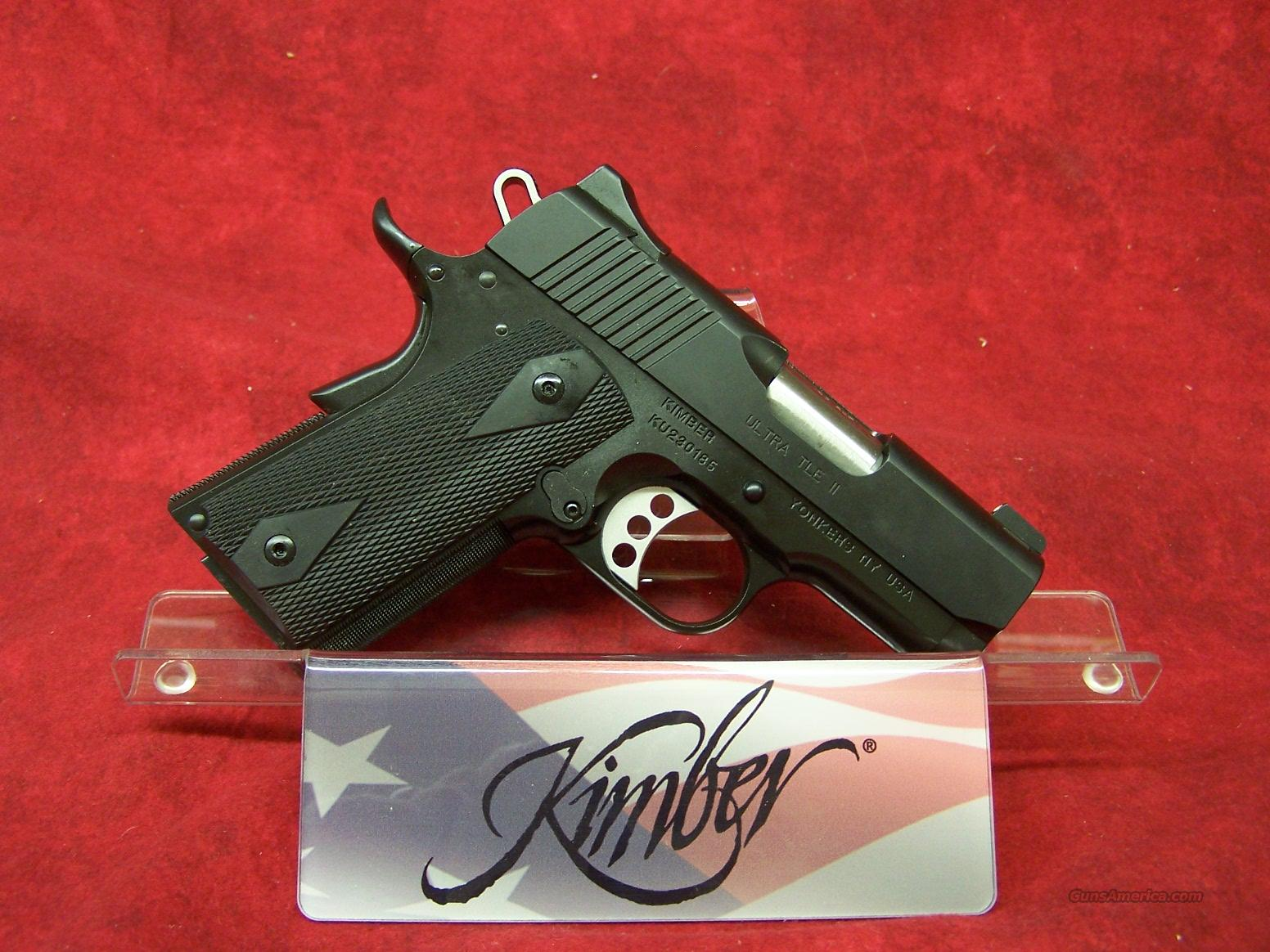 Kimber Ultra TLE II .45ACP (32242)  Guns > Pistols > Kimber of America Pistols