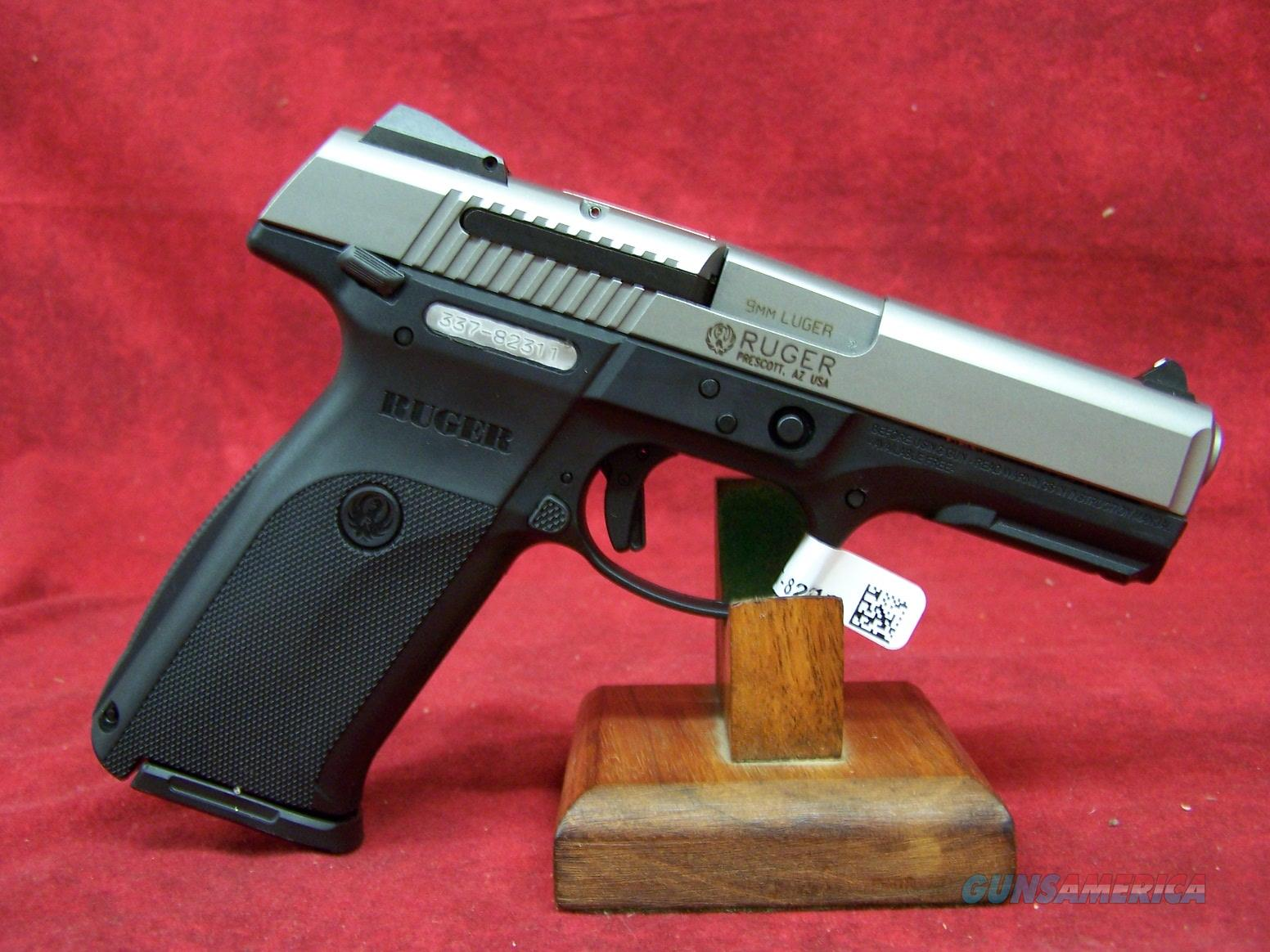 "Ruger SR9 9mm 4"" Barrel (03301)  Guns > Pistols > Ruger Semi-Auto Pistols > SR Family > SR9"