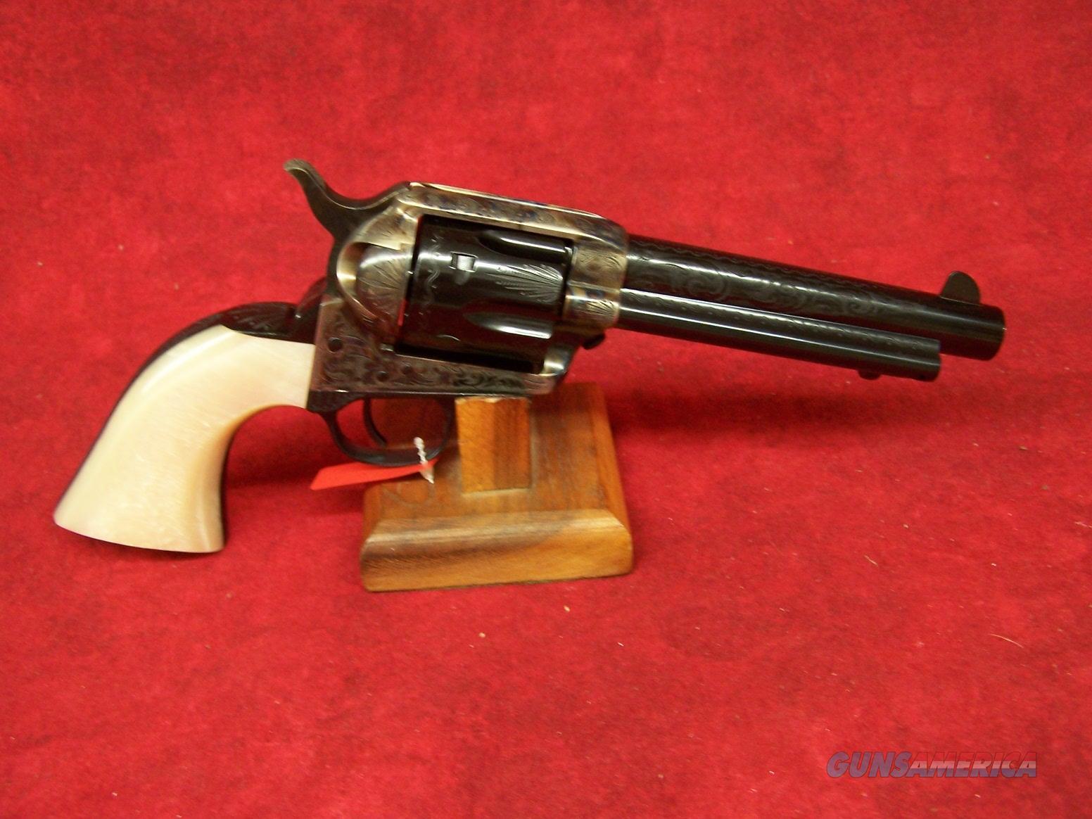"Uberti 1873 Cattleman ""Dalton"" Engraved .45 Colt  5.5"" Barrel (356718)  Guns > Pistols > Uberti Pistols > Ctg."