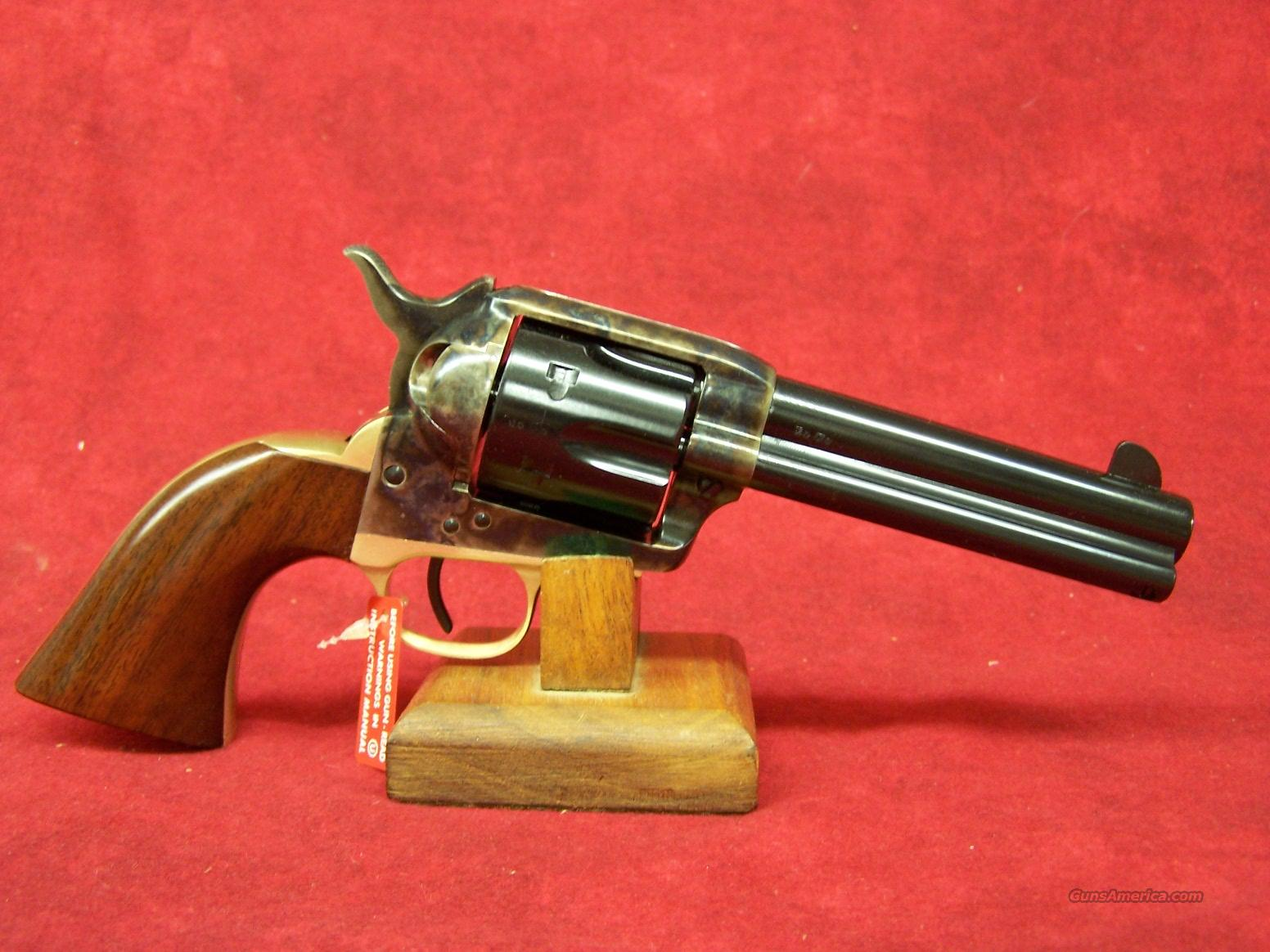 "Uberti 1873 Cattleman II Brass NM 4 3/4"" .45 Colt with Improved Retractable Firing Pin   (356400)  Guns > Pistols > Uberti Pistols > Ctg."