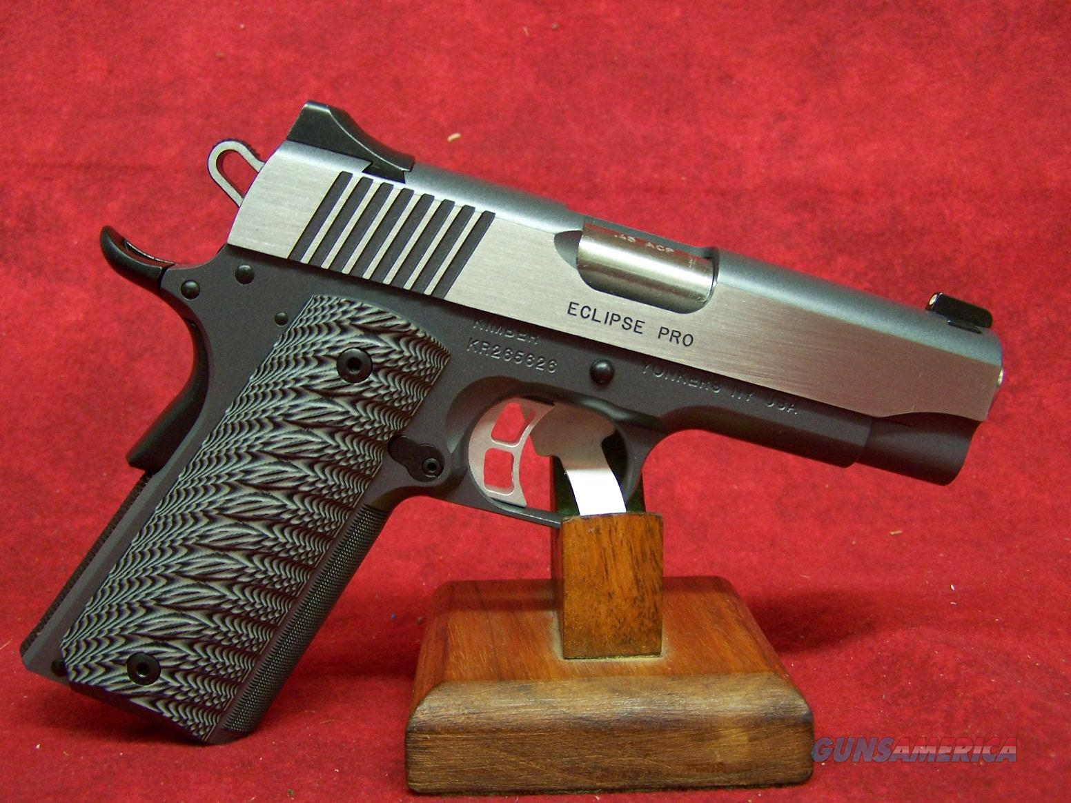 "Kimber Eclipse Pro 45 ACP 4"" Barrel (30240)  Guns > Pistols > Kimber of America Pistols"