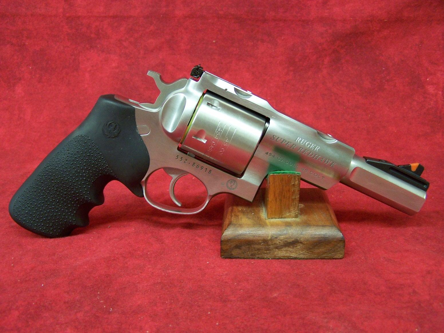 "RUGER ALASKAN 454 SUPER REDHAWK 454CAS SS 5"" AS 454 Casull (05517)  Guns > Pistols > Ruger Double Action Revolver > Redhawk Type"