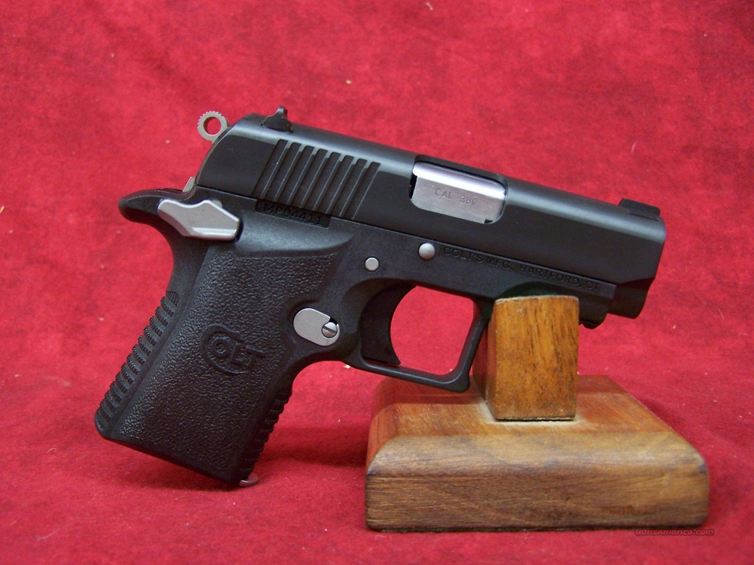 "Colt Mustang Pocketlite Polymer 2.75"" 380 Auto (06790)  Guns > Pistols > Colt Automatic Pistols (.25, .32, & .380 cal)"
