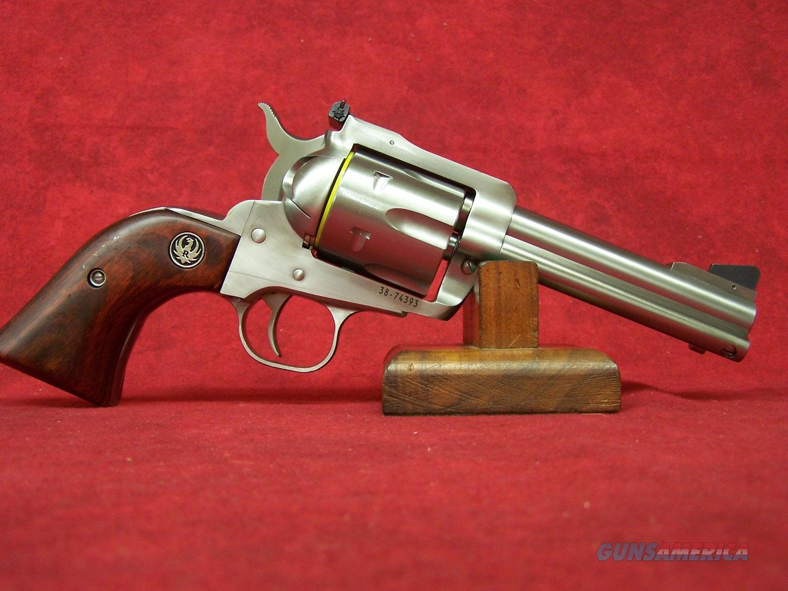 "Ruger New Model Blackhawk 10mm / 40 S&W 4.62"" Barrel (00476)  Guns > Pistols > Ruger Single Action Revolvers > Blackhawk Type"