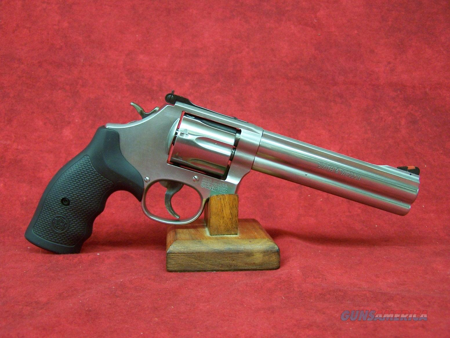 "Smith & Wesson 686 Plus .357 Mag 6"" SS  Barrel Adj. Sight  7 Round  (164198)  Guns > Pistols > Smith & Wesson Revolvers > Med. Frame ( K/L )"