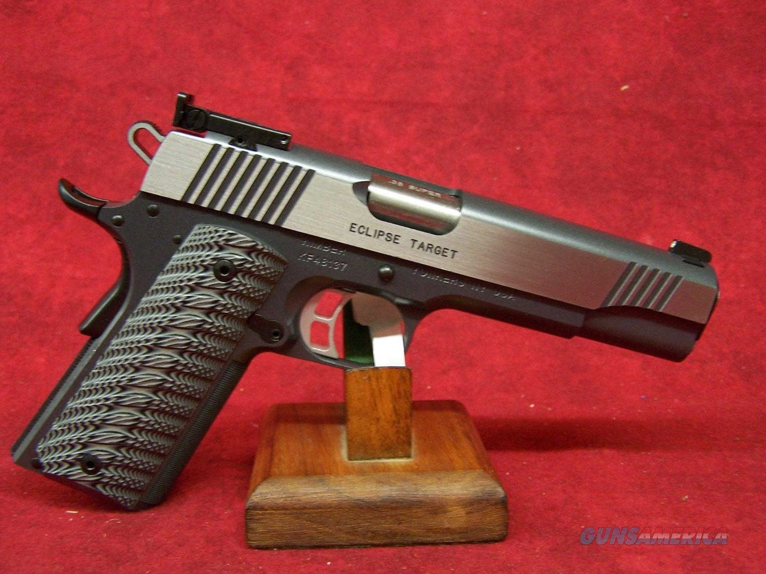"Kimber Eclipse Target .38 Super 5"" Barrel (30259)  Guns > Pistols > Kimber of America Pistols"