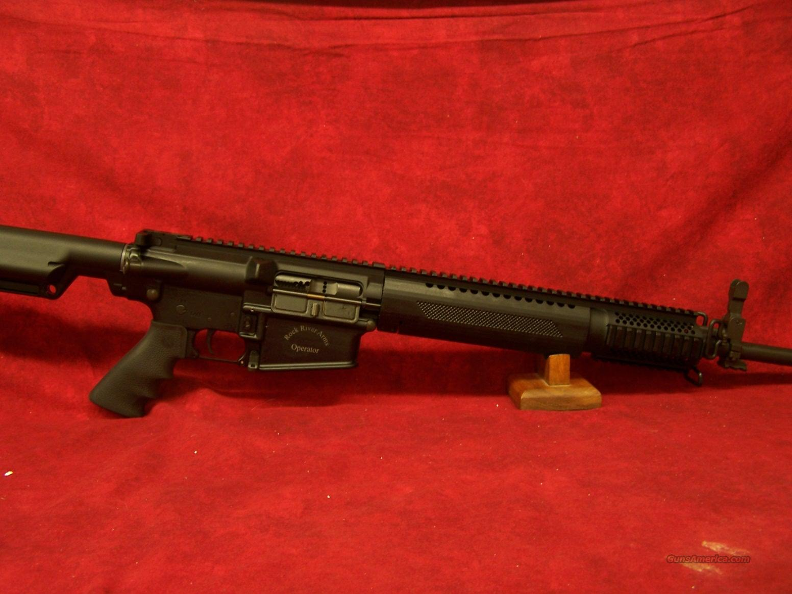 Rock River Arms LAR-8 Standard Operator .308/7.62mm (308A1279)  Guns > Rifles > Rock River Arms Rifles