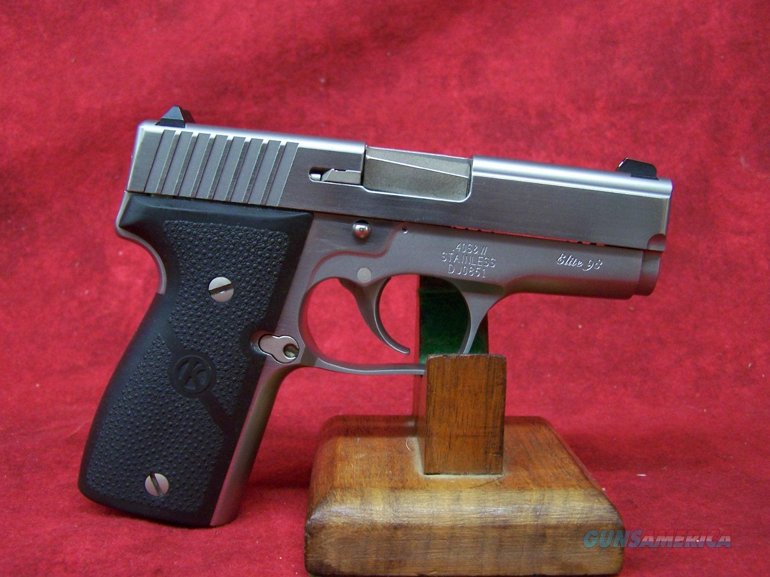 "Kahr Elite 98 40 S&W 3.5"" SS Barrel   Guns > Pistols > Kahr Pistols"
