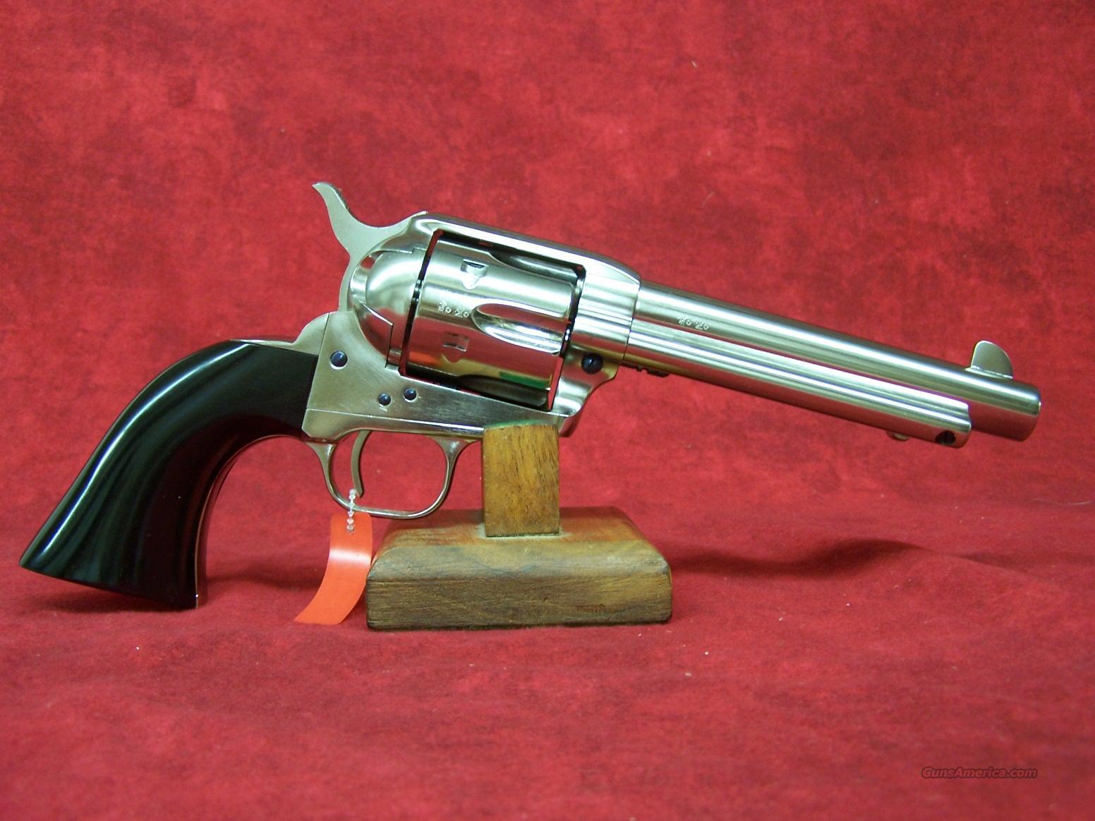 "Uberti 1873 Cattleman Desperado Nickel 5 1/2"" .45LC  (356031)  Guns > Pistols > Uberti Pistols > Ctg."