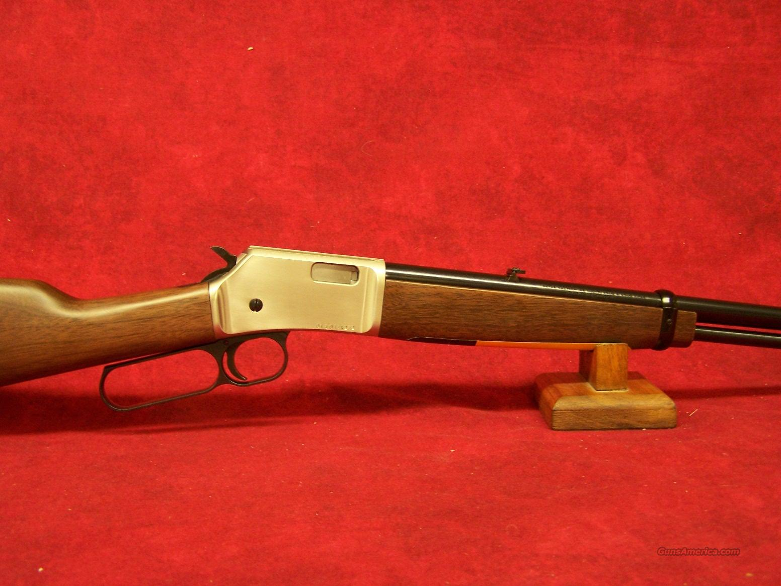 "Browning BL-22 Grade 1 FULL LINE DEALER SATIN NICKEL .22LR 20"" (024107102)  Guns > Rifles > Browning Rifles > Lever Action"