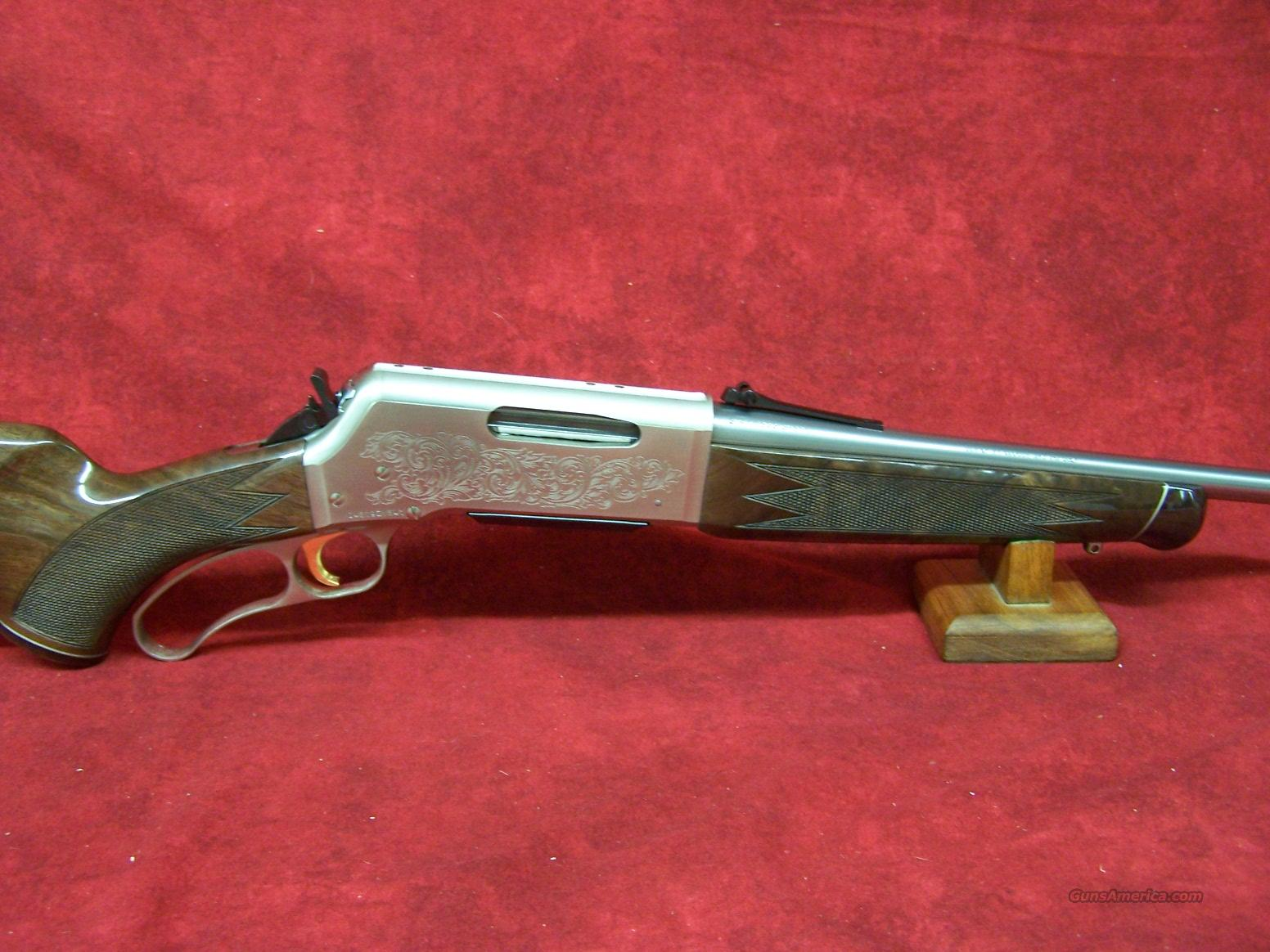 "Browning BLR White Gold Medallion 243 Win 20"".   Guns > Rifles > Browning Rifles > Lever Action"