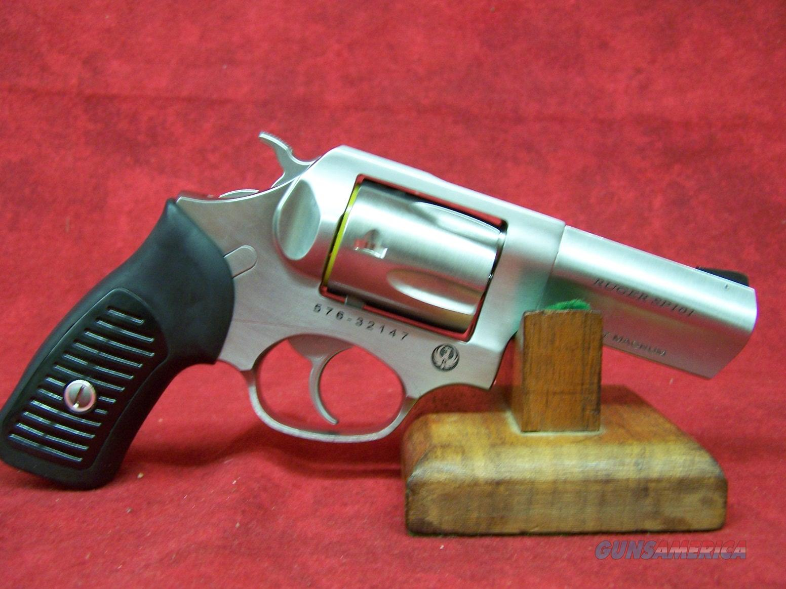 Ruger Model KSP331X .357 Magnum 3.06 Inch Barrel Satin Stainless Finish (05719)  Guns > Pistols > Ruger Double Action Revolver > SP101 Type