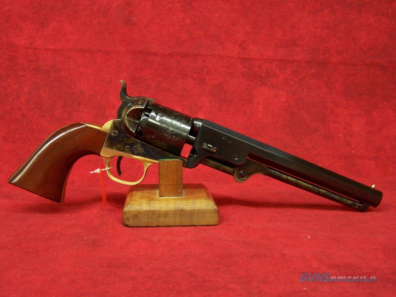 "Uberti 1851 Navy Oval TG .36 cal 7 1/2"" Barrel (340000)  Guns > Pistols > Uberti Pistols > Percussion"