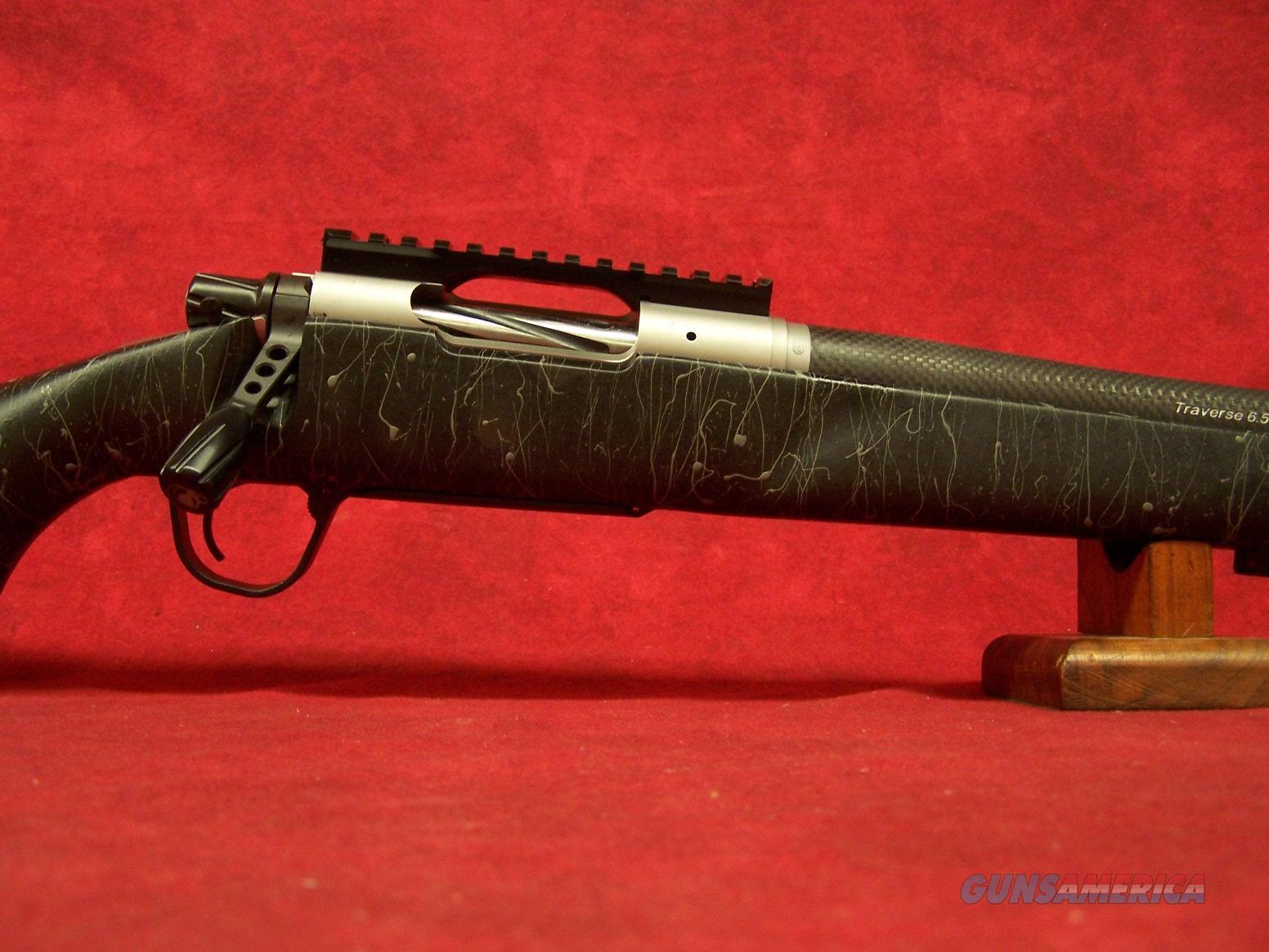 "Christensen Arms Traverse 6.5 PRC 24"" 1:8 Carbon Fiber Barrel Black with Gray web stock  Guns > Rifles > C Misc Rifles"