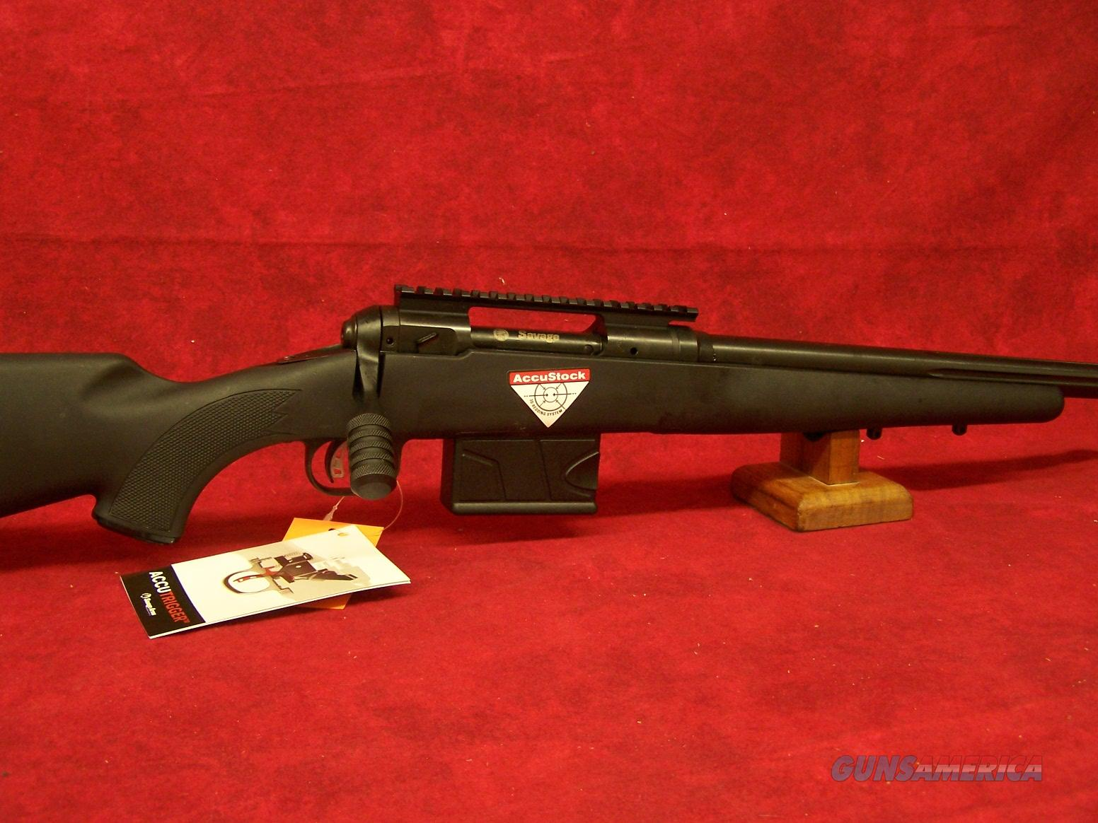 "Savage 10FCP-SR  .308 Win 24"" Threaded Barrel Accutrigger Black Sync Accustock 10 Round (22441)  Guns > Rifles > Savage Rifles > 10/110"