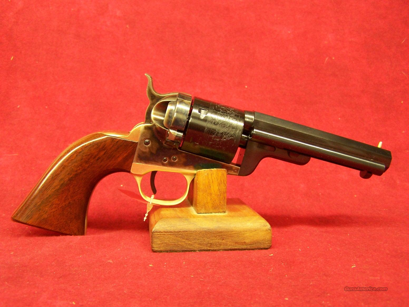 "Uberti 1851 Navy Model ""Richards Mason"" 4 3/4"" .38 Special (341358)  Guns > Pistols > Uberti Pistols > Ctg."