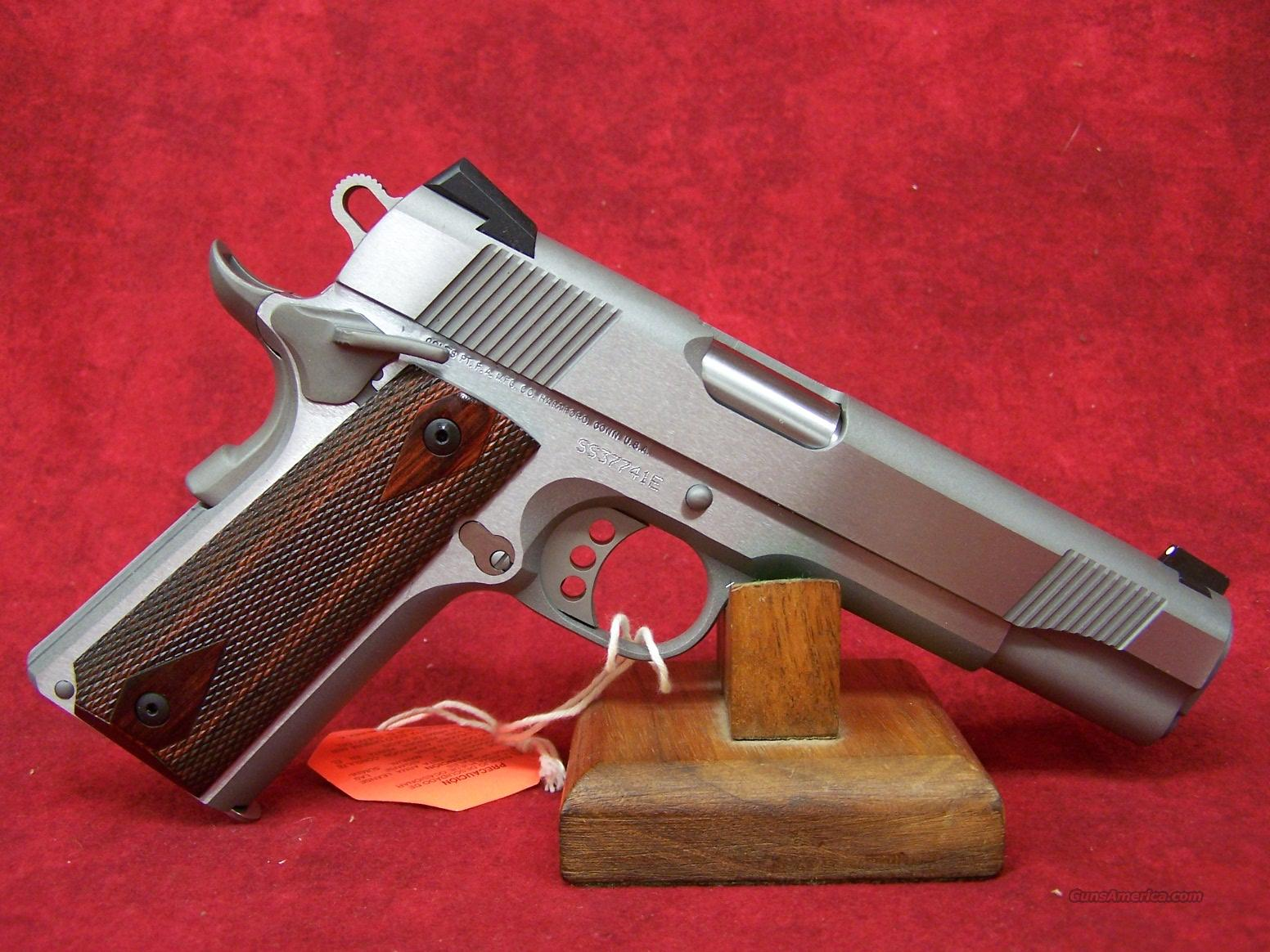 "Colt Government Stainless Steel 5"" .45ACP (01070XSE)  Guns > Pistols > Colt Automatic Pistols (1911 & Var)"