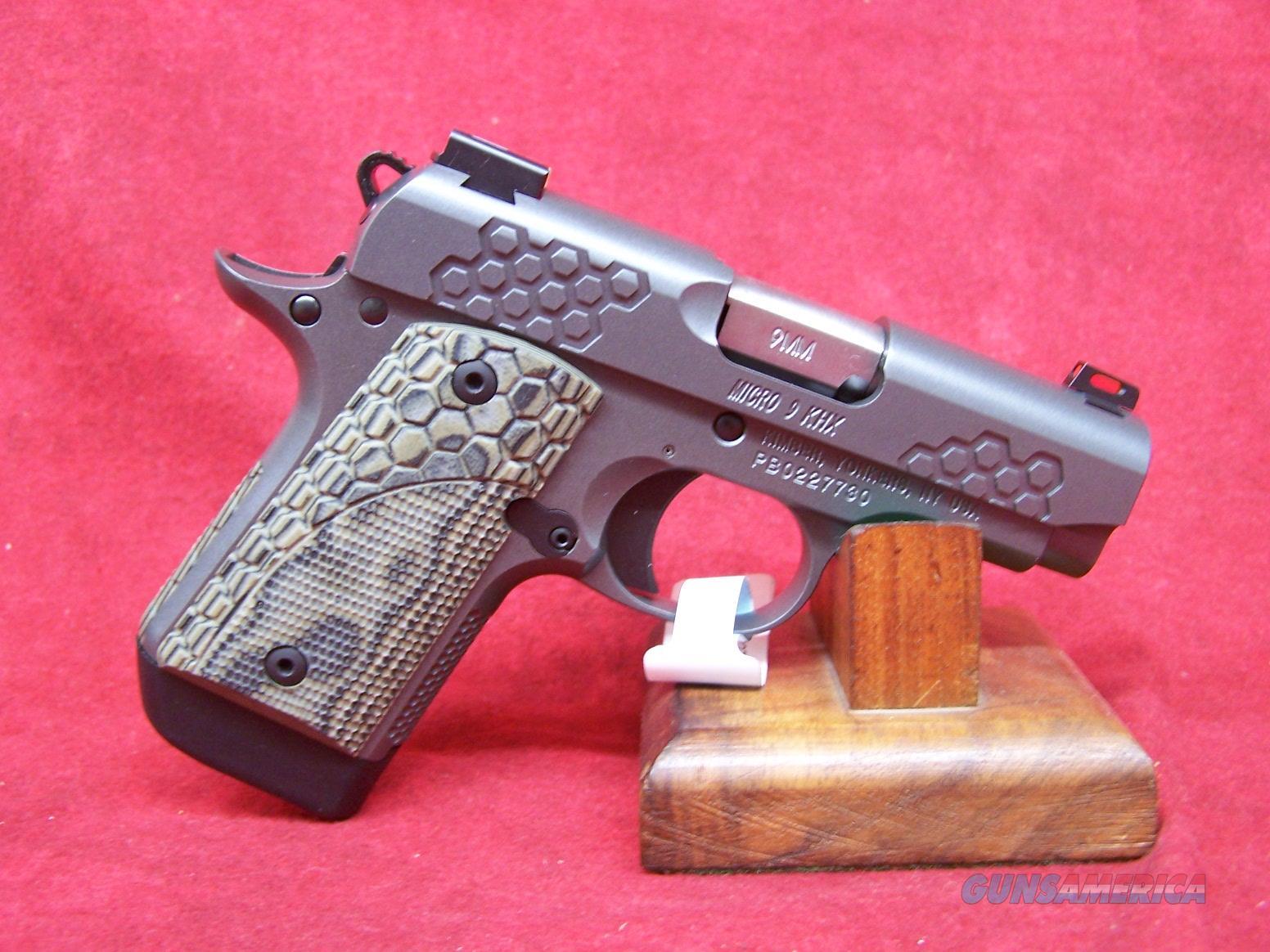 Kimber Micro 9 KHX 9mm (33198)  Guns > Pistols > Kimber of America Pistols > Micro 9