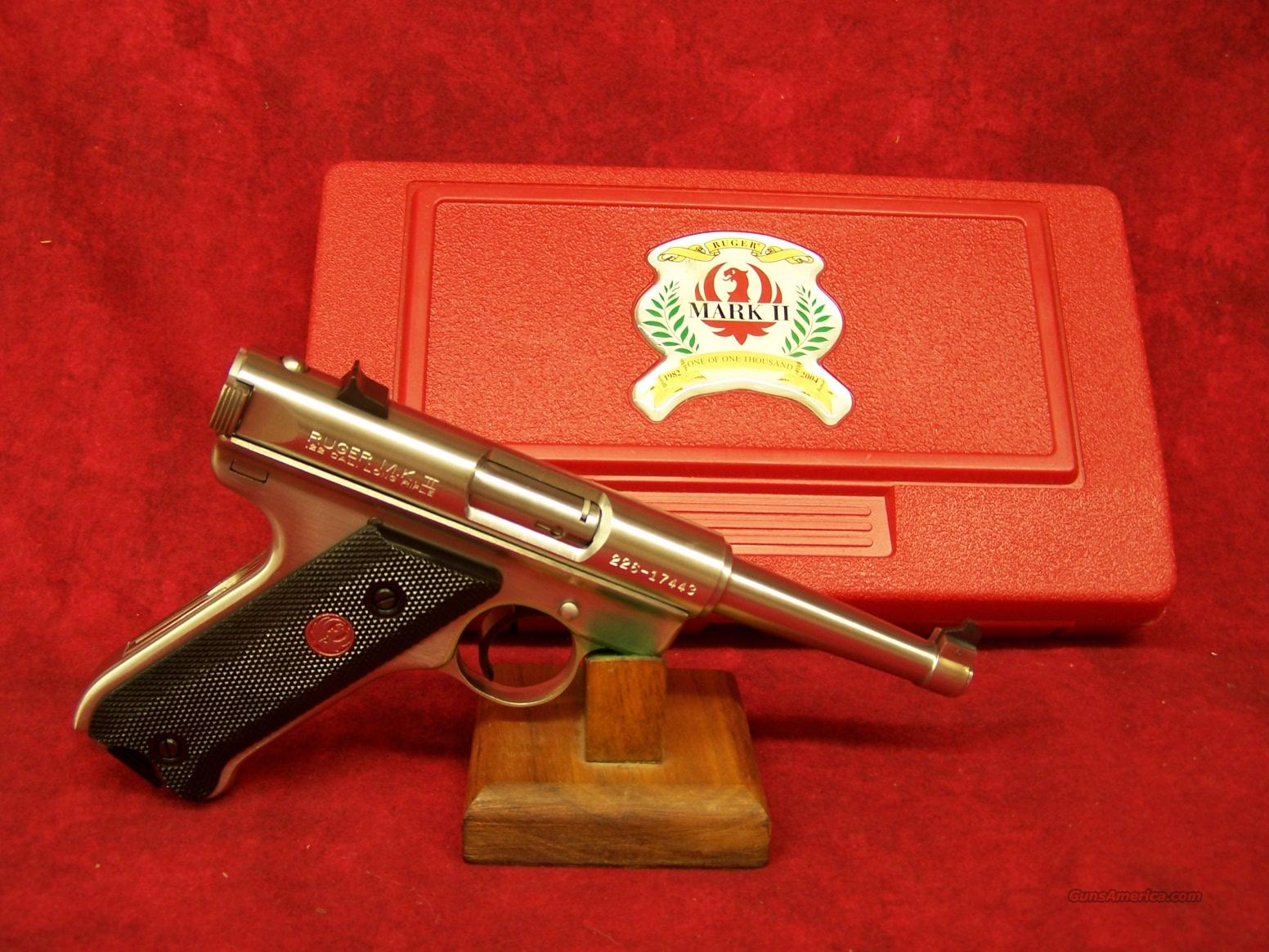 "Ruger Mark II Limited Edition .22lr ""One of One Thousand""  Guns > Pistols > Ruger Semi-Auto Pistols > Mark I & II Family"