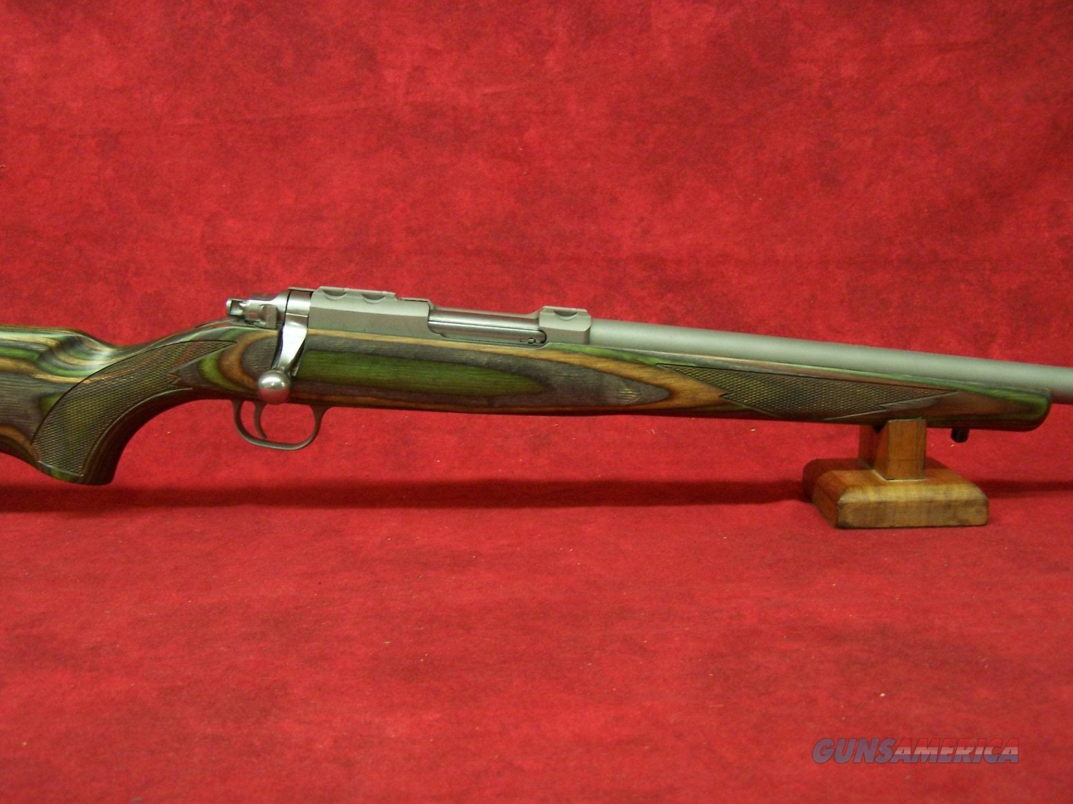 Ruger Model 77/17 .17 Hornet 24 Inch Stainless Steel Barrel Matte Finish No Sights Green Mountain Laminate (07212)  Guns > Rifles > Ruger Rifles > Model 77