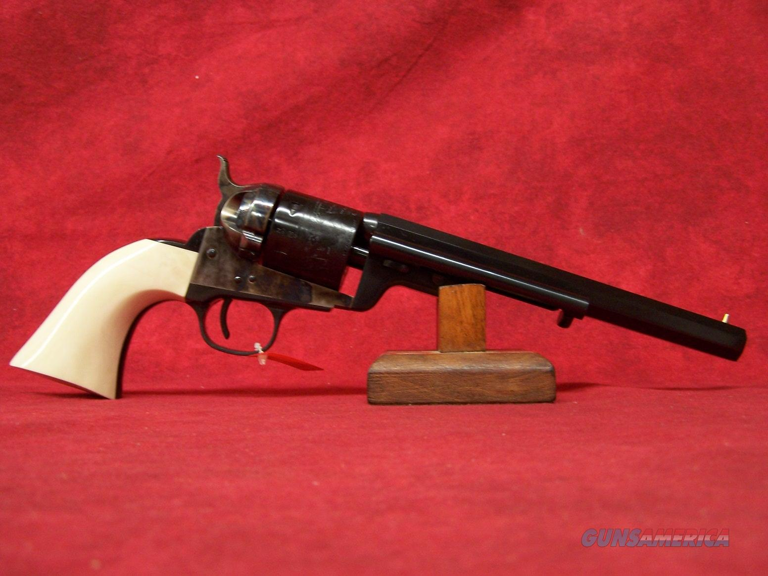 "Uberti 1851 Navy Conversion ""Wild Bill"" .38 Special 7.5"" Barrel (356717)  Guns > Pistols > Uberti Pistols > Ctg."
