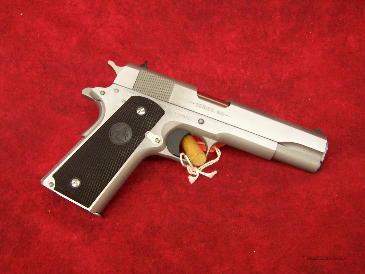 Colt Government Model M1991A1 Stainless .45 ACP(01091)    Guns > Pistols > Colt Automatic Pistols (1911 & Var)