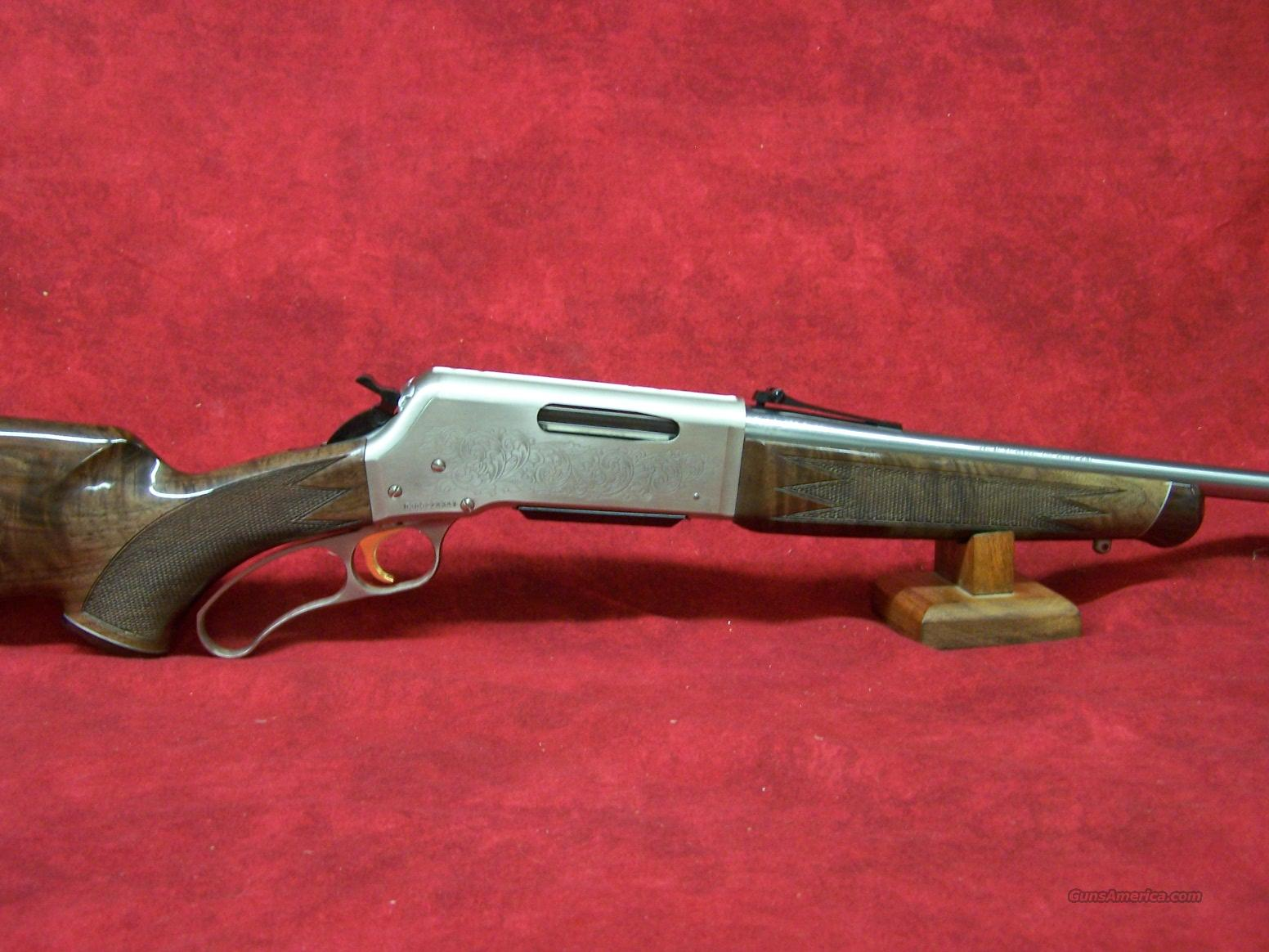 "Browning BLR White Gold Medallion 7mm-08 Rem 20"".   Guns > Rifles > Browning Rifles > Lever Action"