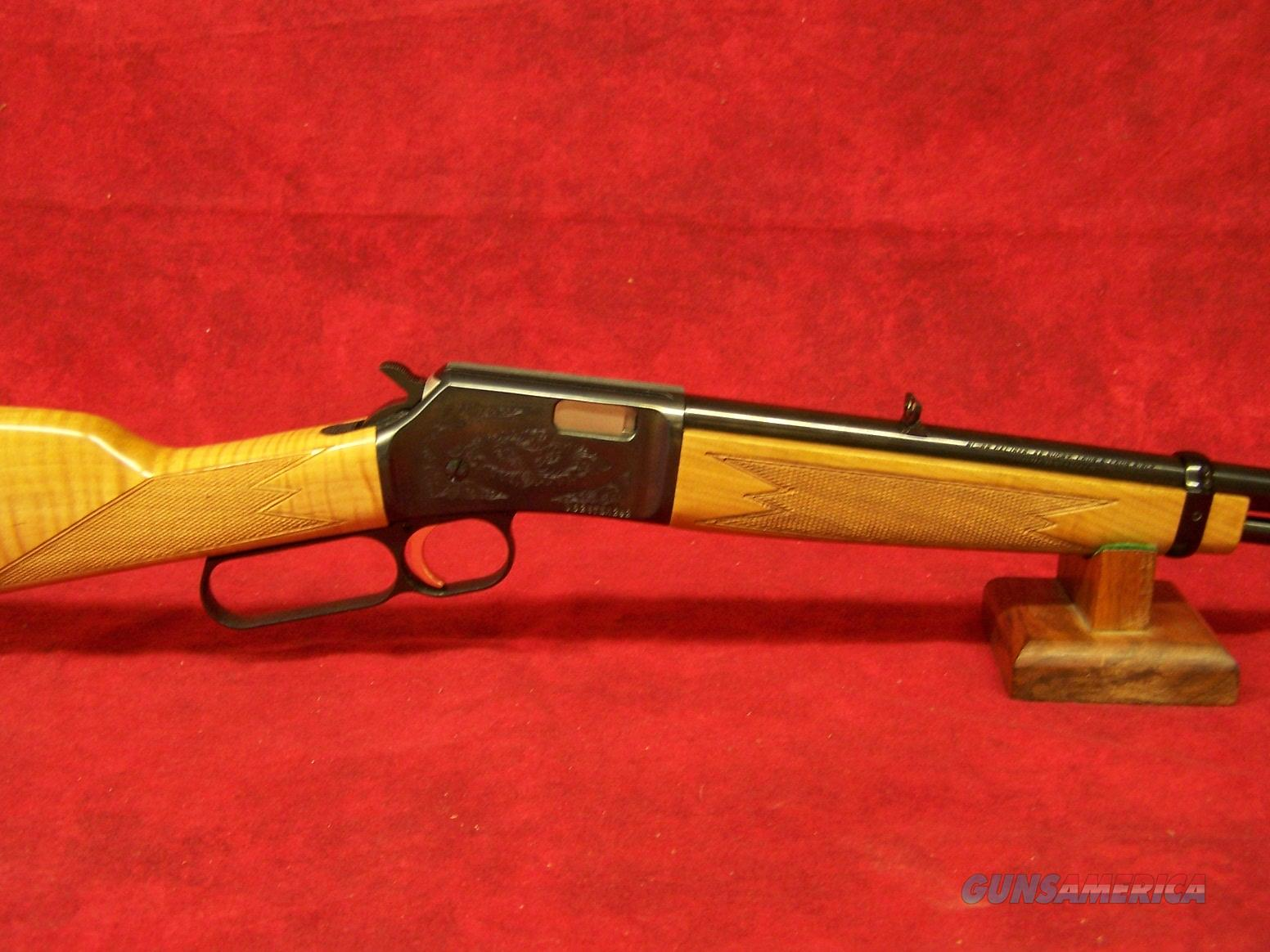 "Browning BL-22 Grade II Maple .22lr 20"" (024125103)  Guns > Rifles > Browning Rifles > Lever Action"
