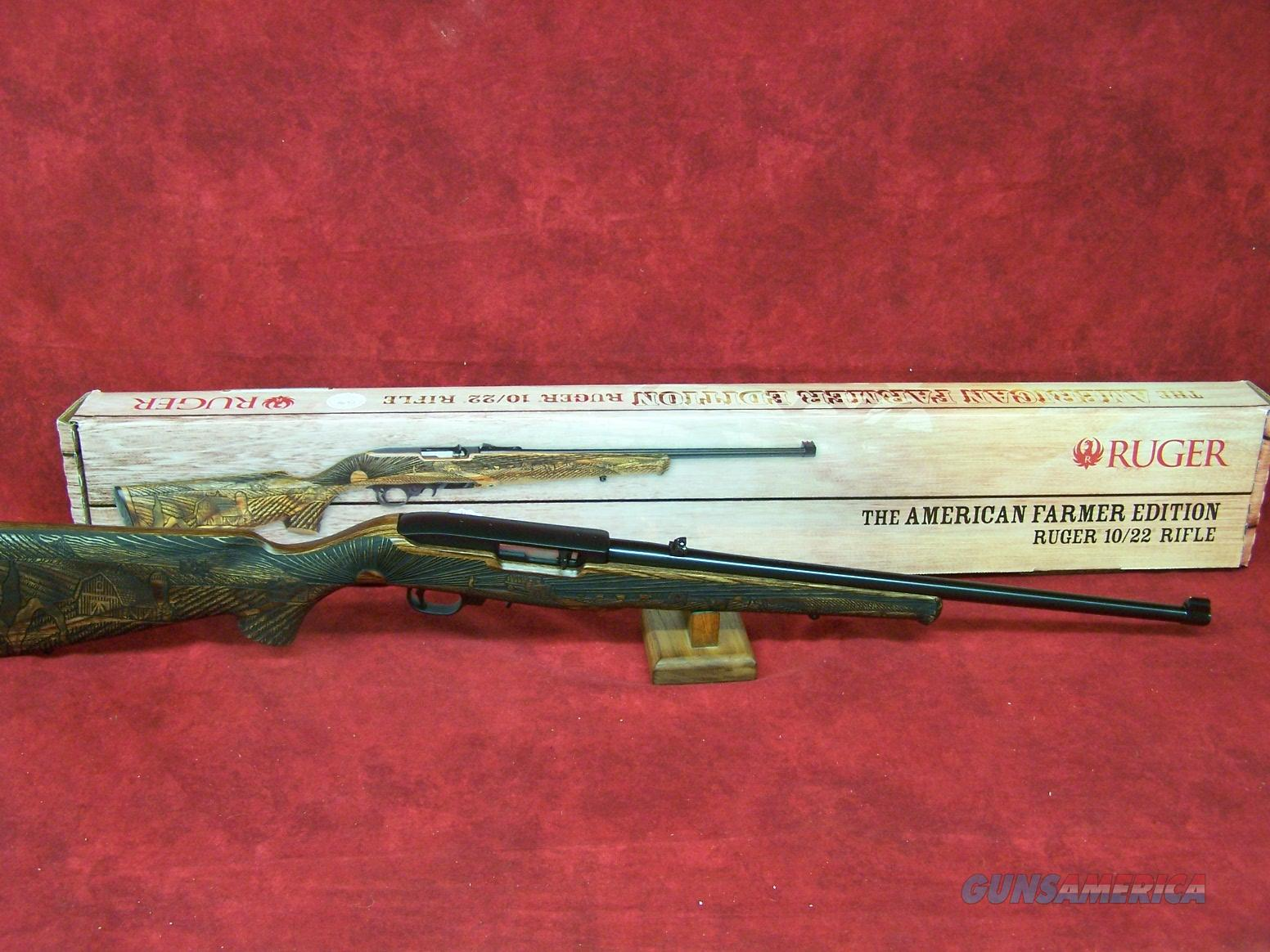 Ruger 10/22 American Farmer Edition .22lr (11190)  Guns > Rifles > Ruger Rifles > 10-22