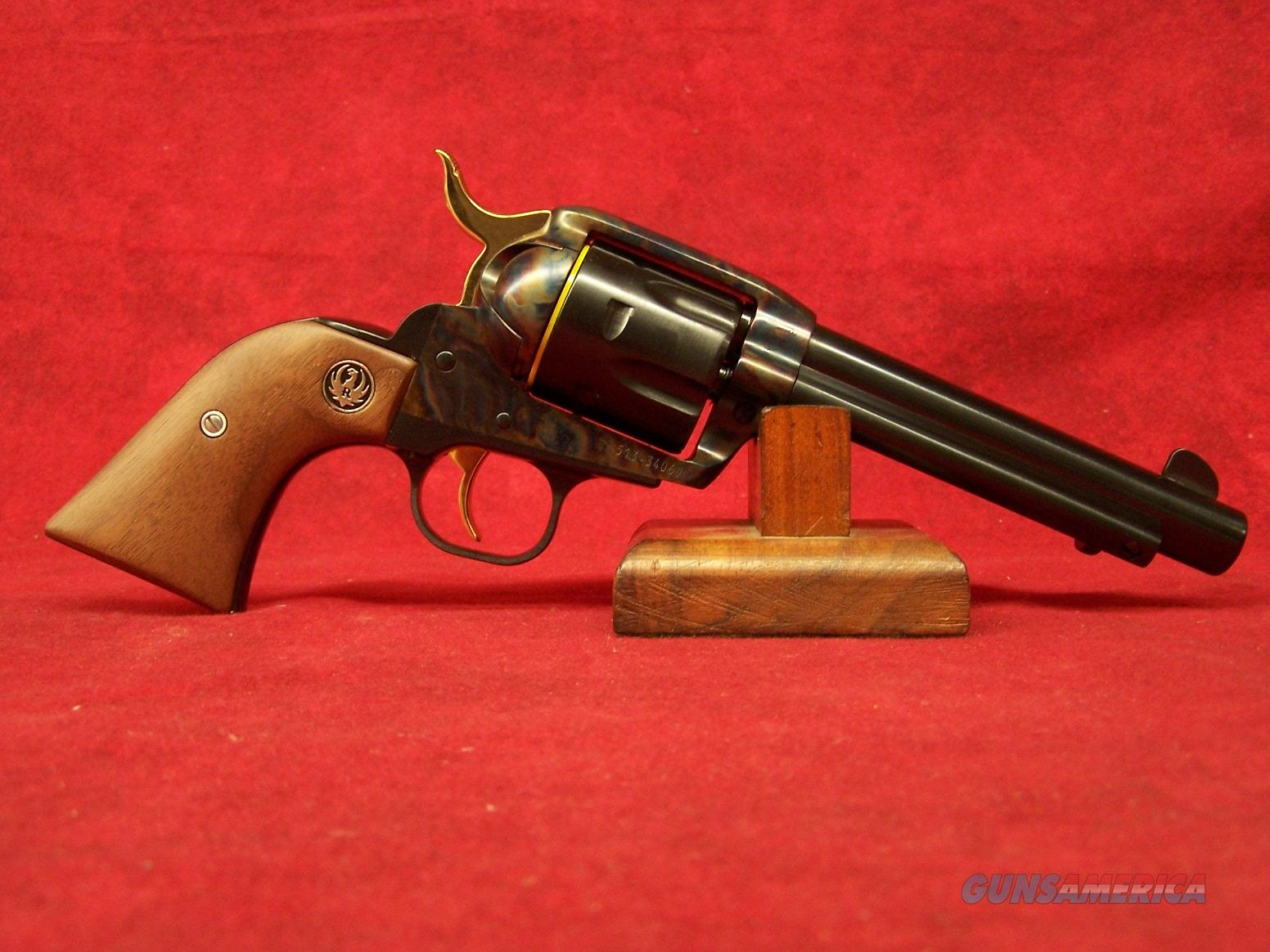 """Ruger New Vaquero Bobby Tyler Edition .357 Mag 5.5"""" Barrel Case Colored  Limited 1/500 (05164)  Guns > Pistols > Ruger Single Action Revolvers > Cowboy Action"""