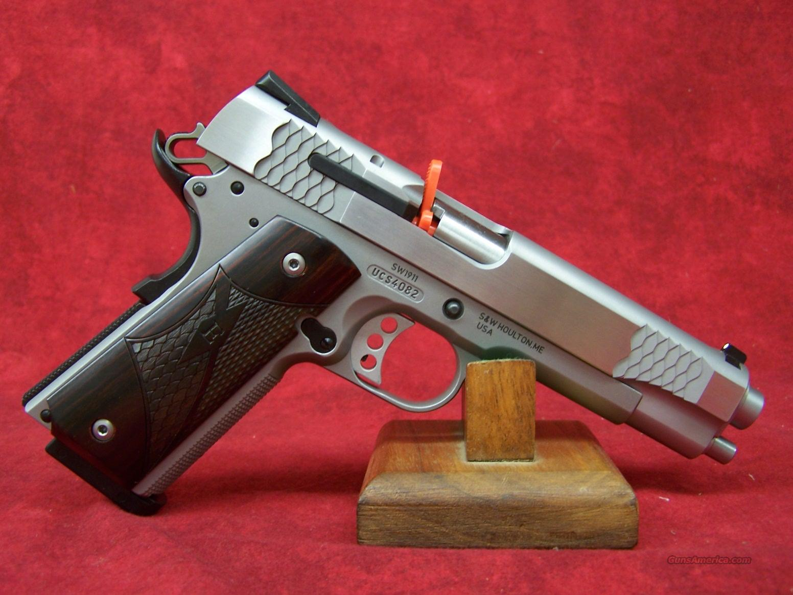 "Smith and Wesson 1911 E Series 5"" SS .45ACP(108482)  Guns > Pistols > Smith & Wesson Pistols - Autos > Steel Frame"