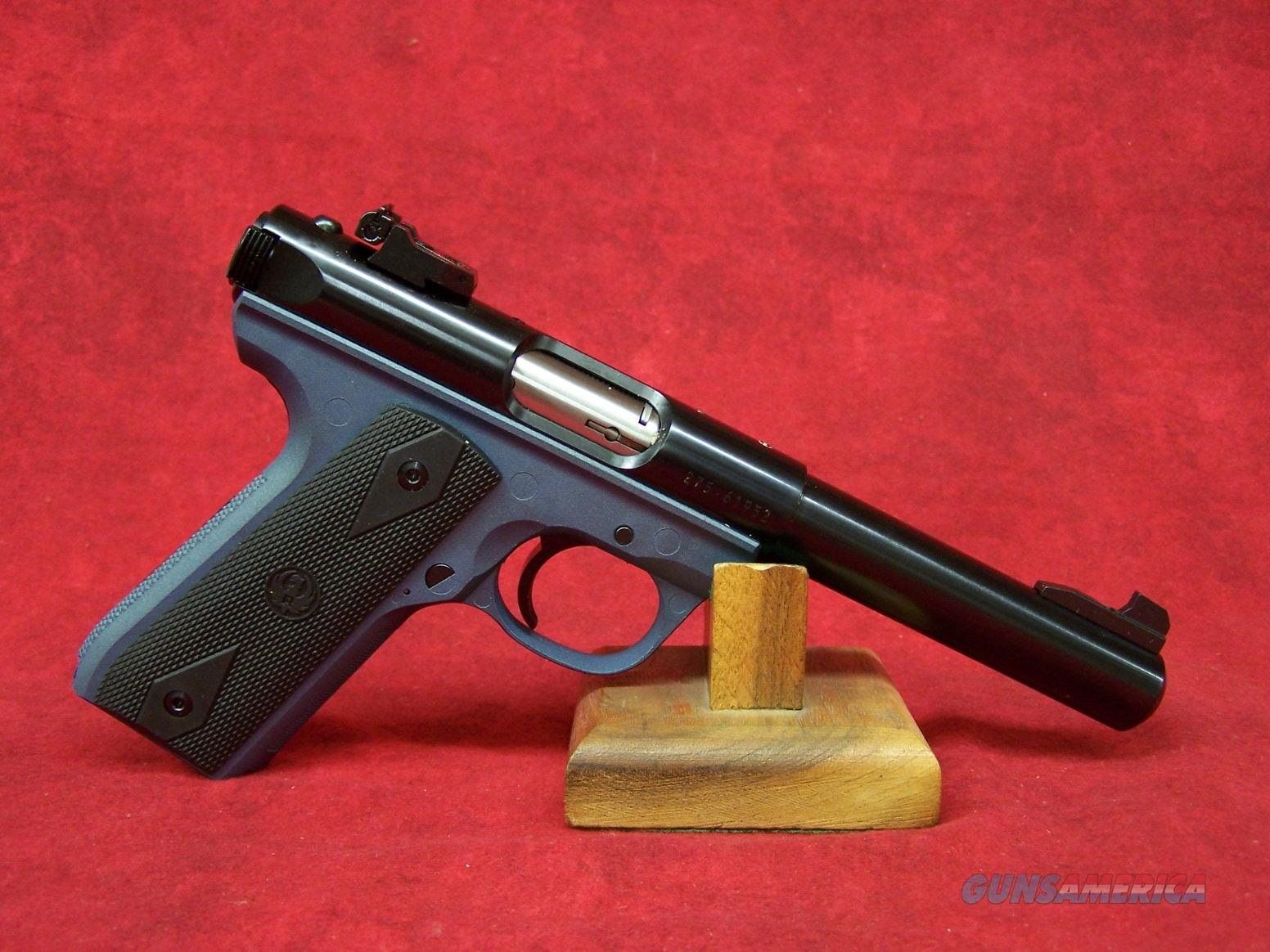 "Ruger 22/45 Blue Titanium .22lr 5 1/2"" (10162)   Guns > Pistols > Ruger Semi-Auto Pistols > 22/45"