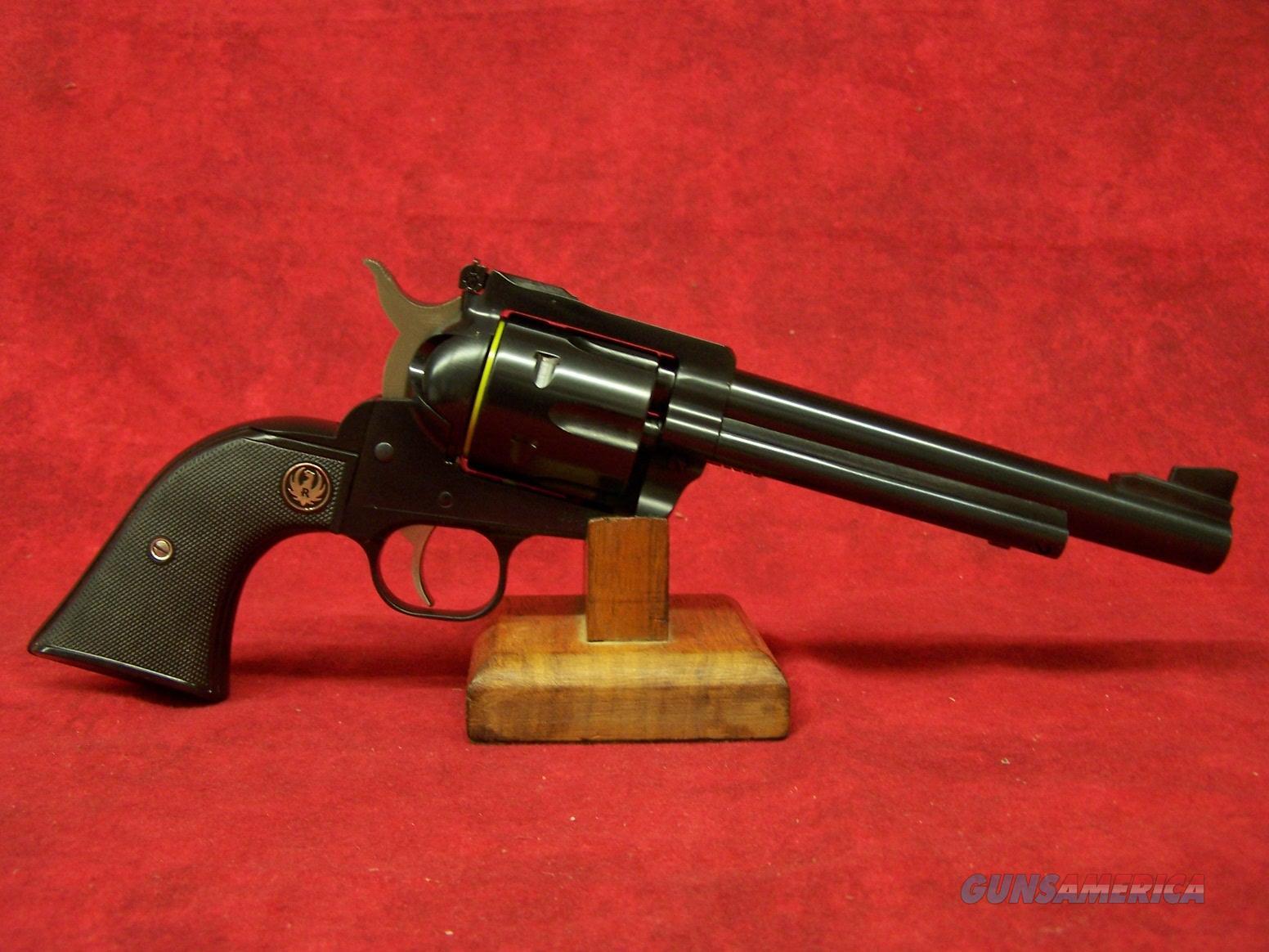 Ruger Blackhawk Convertible .357 Magnum/9mm 6.5 Inch Barrel Blue Finish (0318)  Guns > Pistols > Ruger Single Action Revolvers > Blackhawk Type
