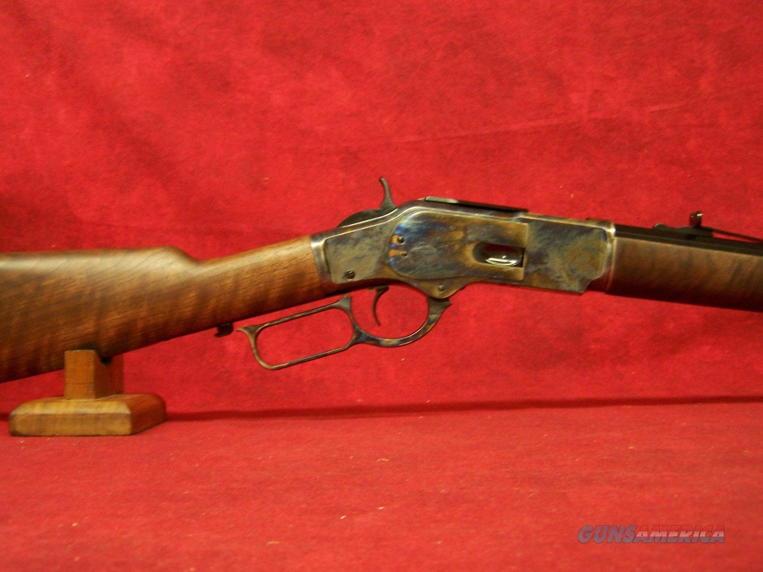 "Winchester Model 73 Sporter Case Hardened .45 Colt 24"" Full Octagon Barrel Polished Blue Finish Grade II/III Walnut Straight Grip Stock (534217141)  Guns > Rifles > Winchester Rifles - Modern Lever > Other Lever > Post-64"