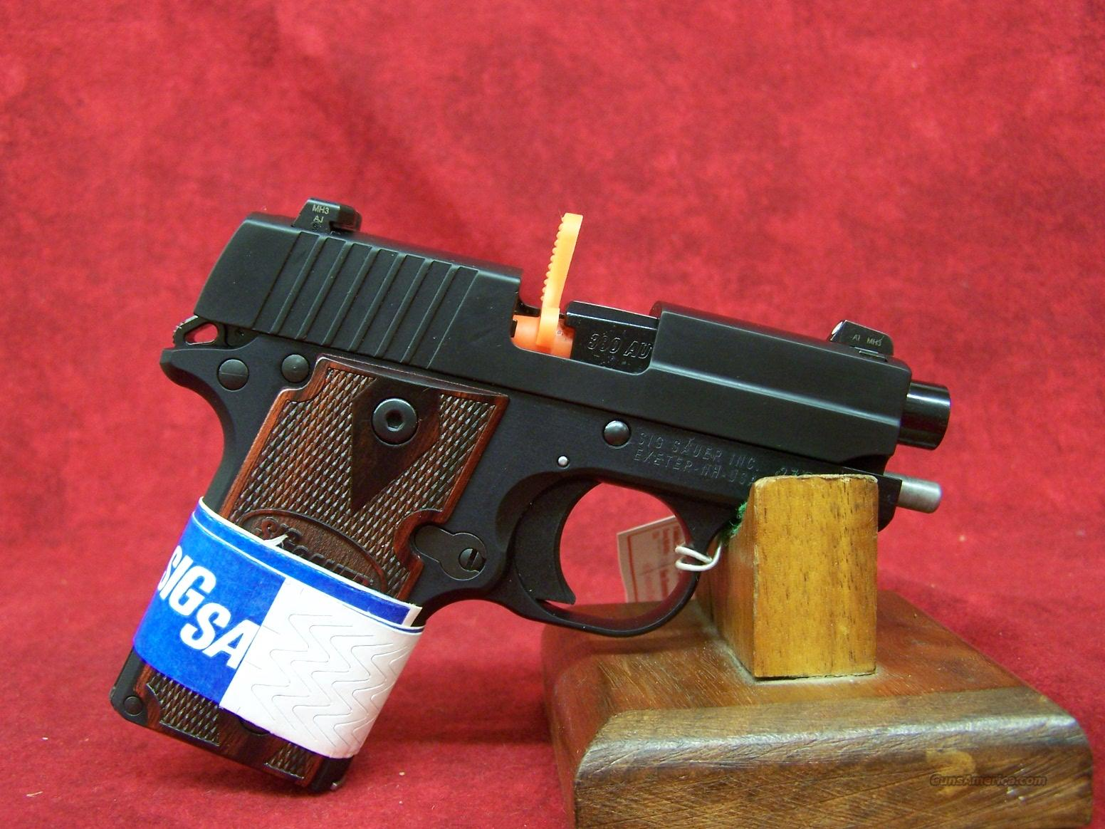 SIG SAUER P238 Nitron with Rosewood Grips .380 w/Night Sights(238-380-RG)  Guns > Pistols > Sig - Sauer/Sigarms Pistols > Other
