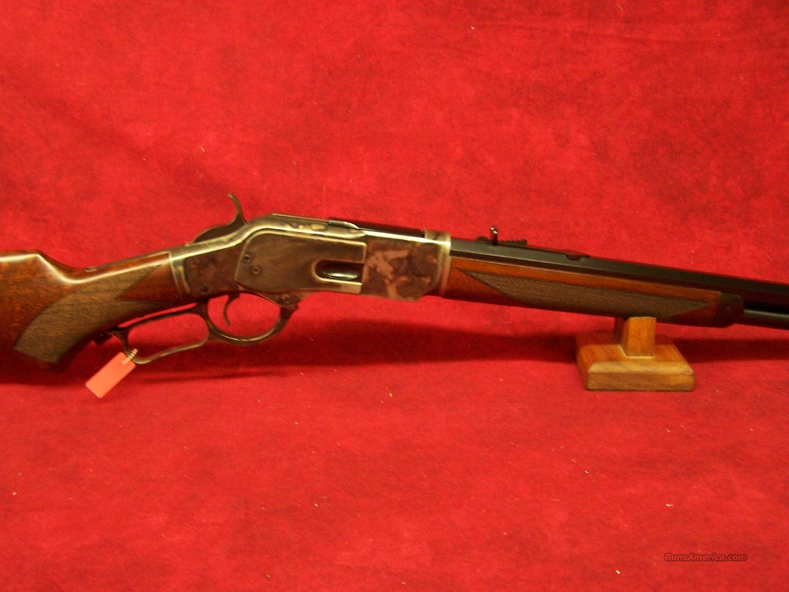 "Uberti 1873 Special Sporting Short Rifle Steel .357 mag 20"" Octagon barrel(342138)  Guns > Rifles > Uberti Rifles > Single Shot"