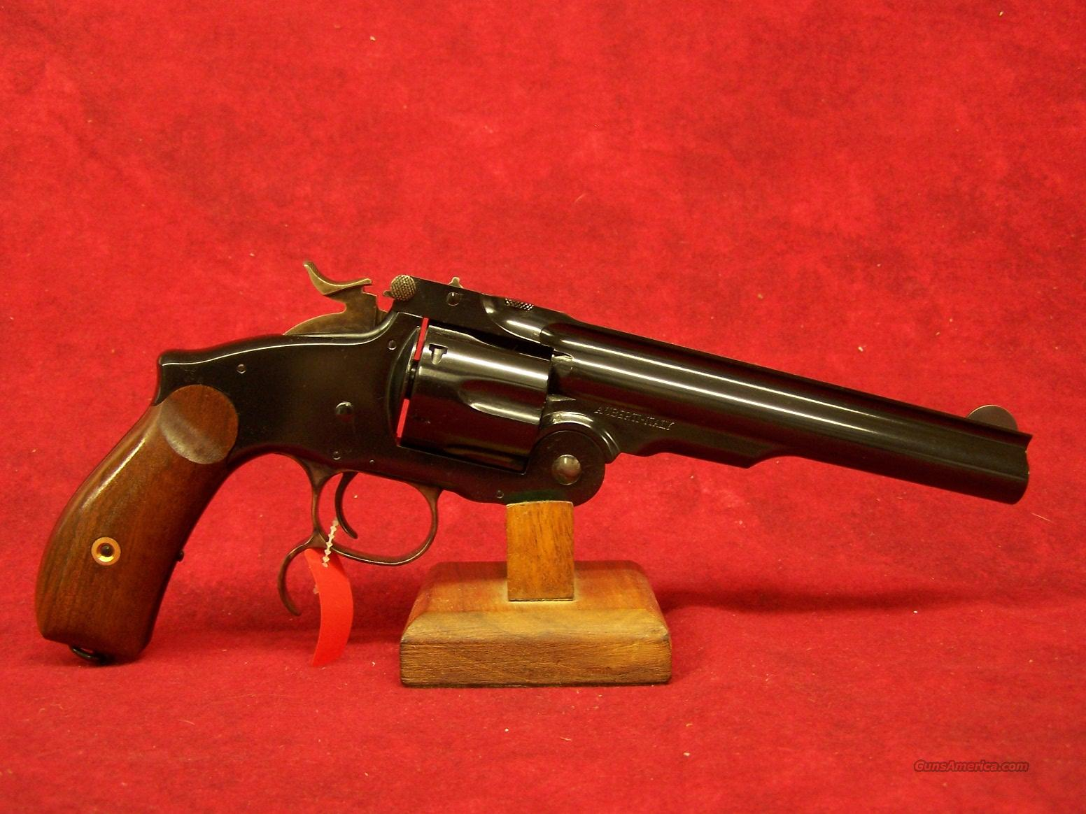 "Uberti No. 3 New Model Russian Top Break 6.5"" .45LC Blue (348579)  Guns > Pistols > Uberti Pistols > Ctg."
