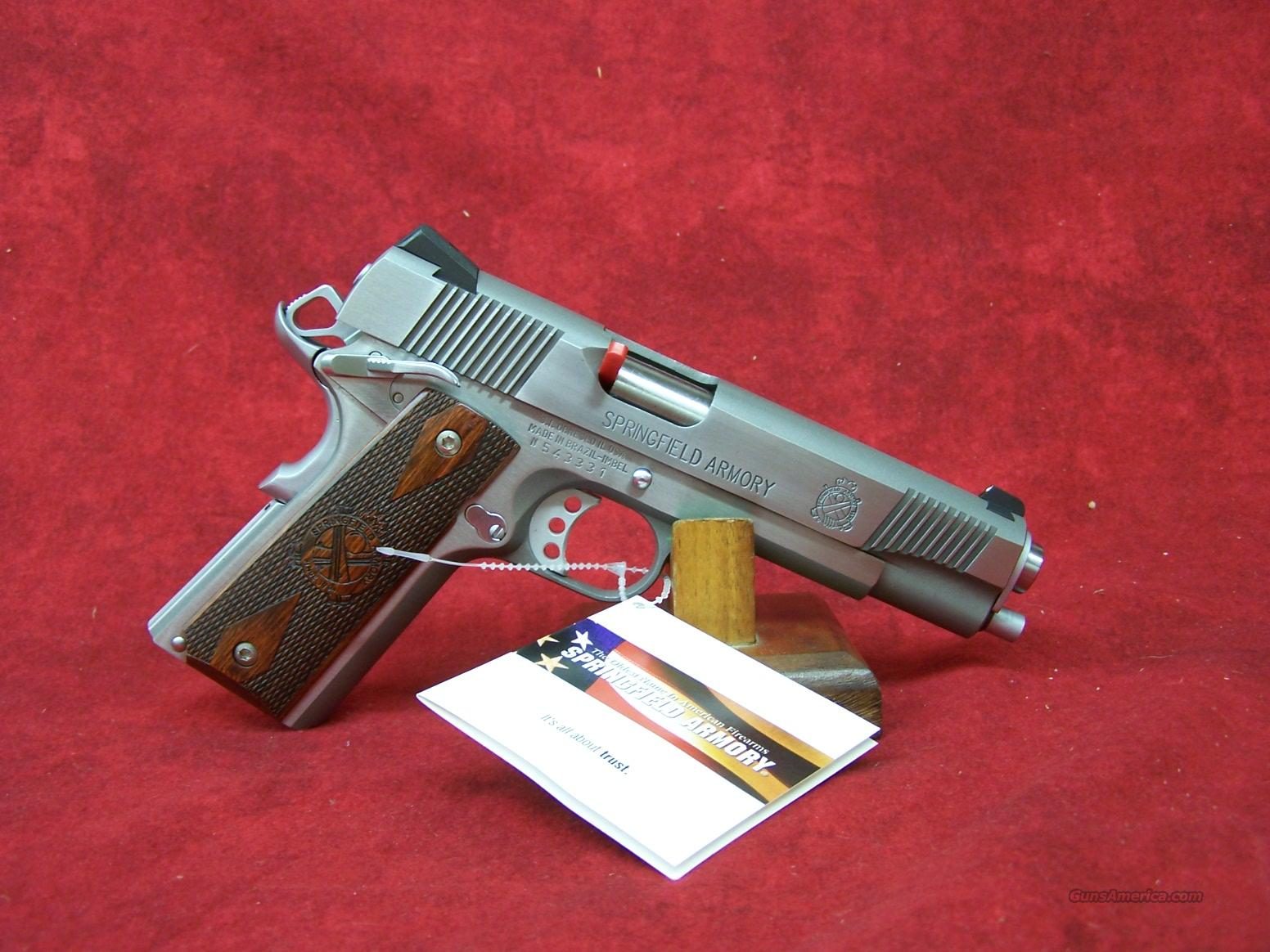 Springfield Armory 1911-A1 Full Size SS 9mm(PX9130LP).    Guns > Pistols > Springfield Armory Pistols > 1911 Type