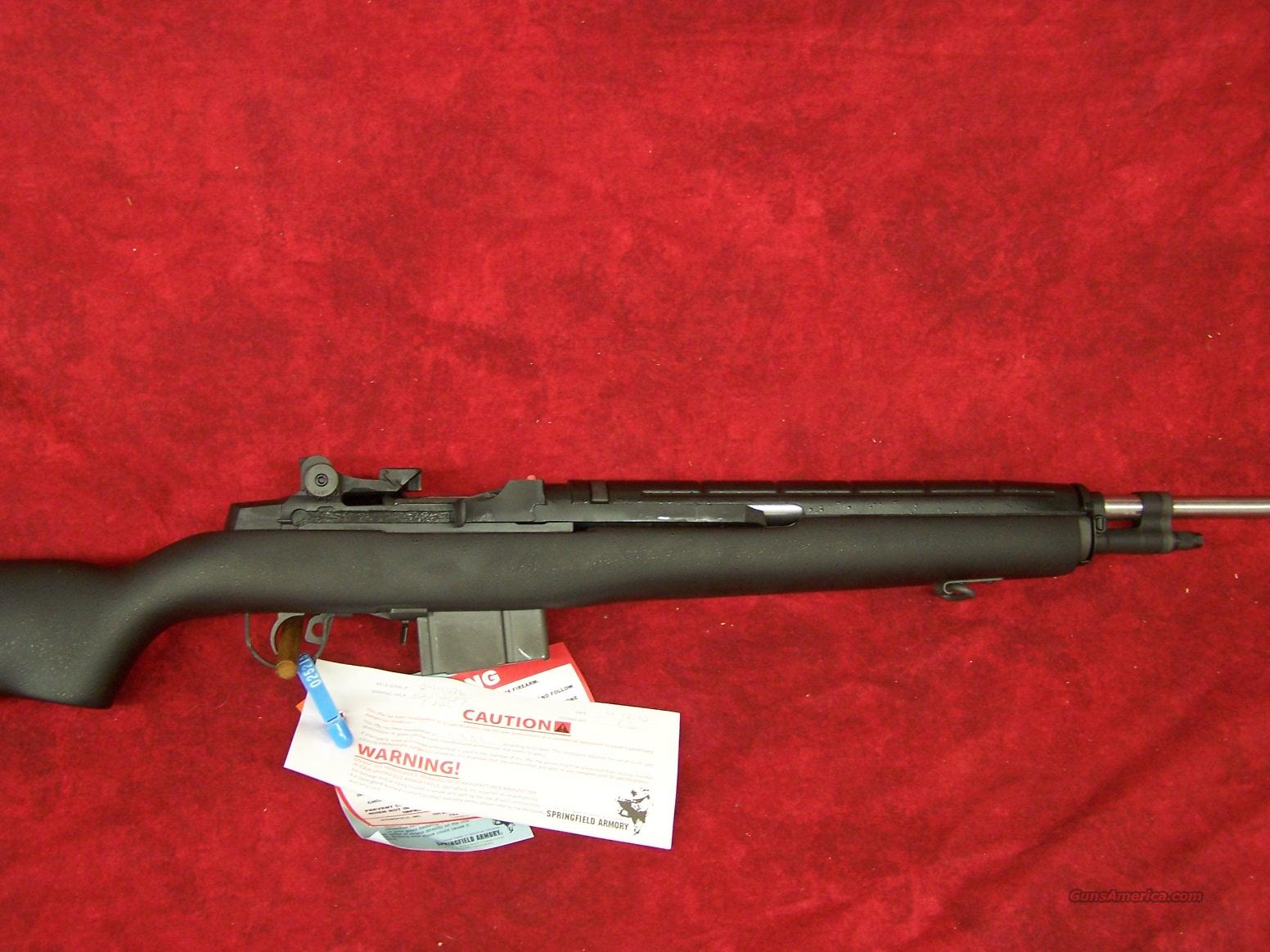 Springfield Armory M1A Super Match Black McMillian Stock with Stainless Steel Barrel 7.62 NATO(SA9804).    Guns > Rifles > Springfield Armory Rifles > M1A/M14